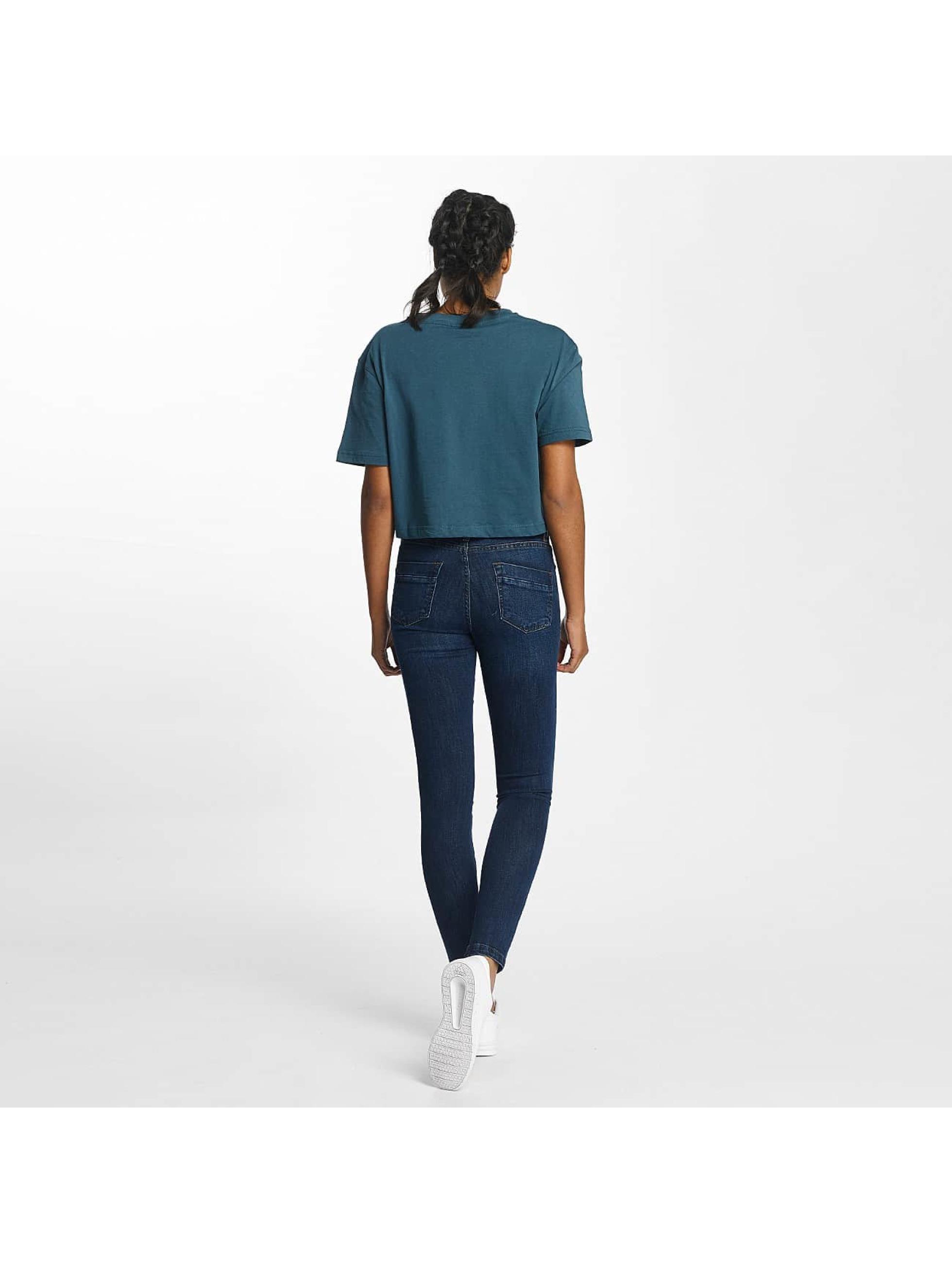 Urban Classics Skinny jeans Skinny Denim blauw