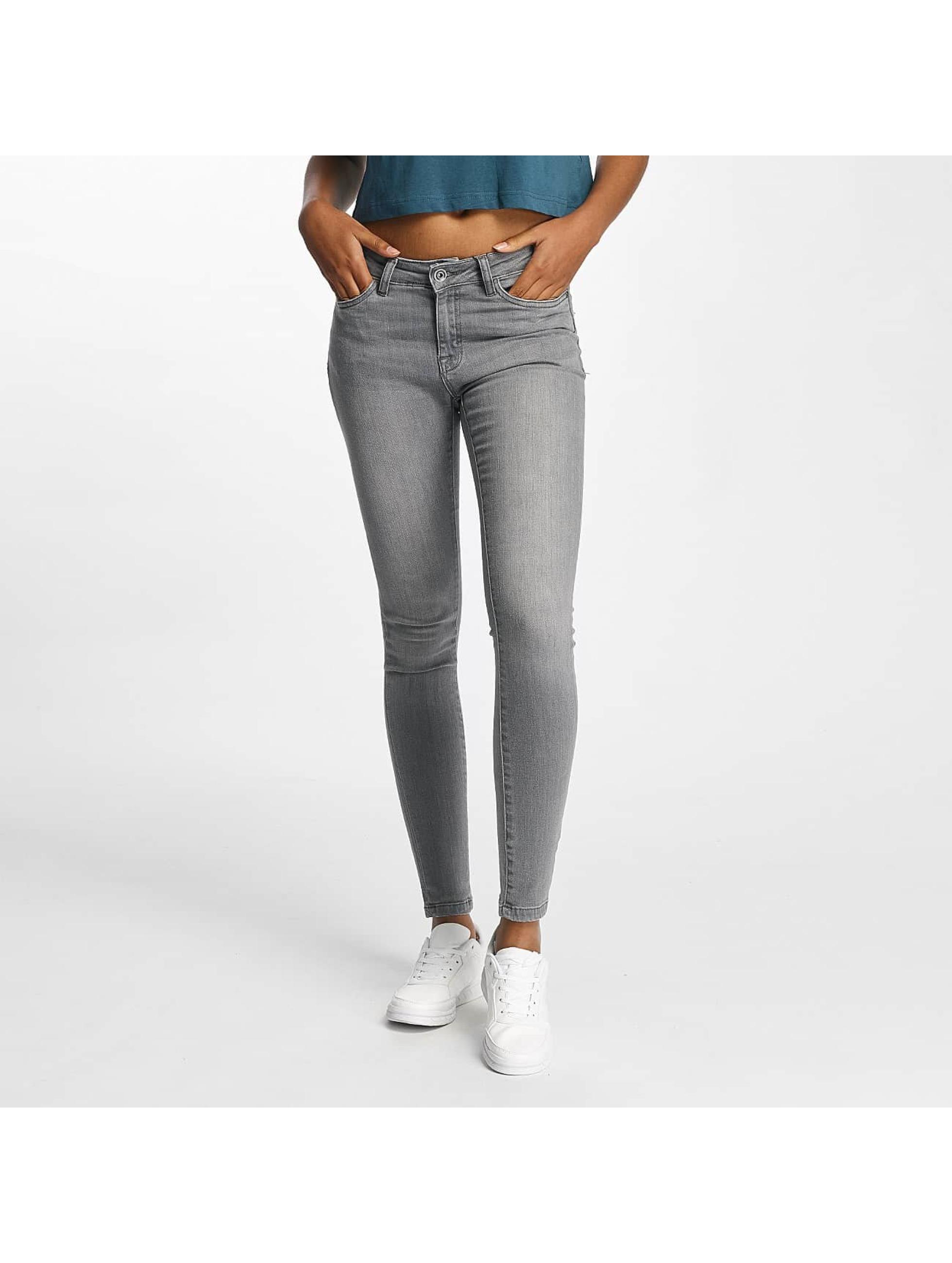 Urban Classics Skinny Jeans Skinny Denim grey