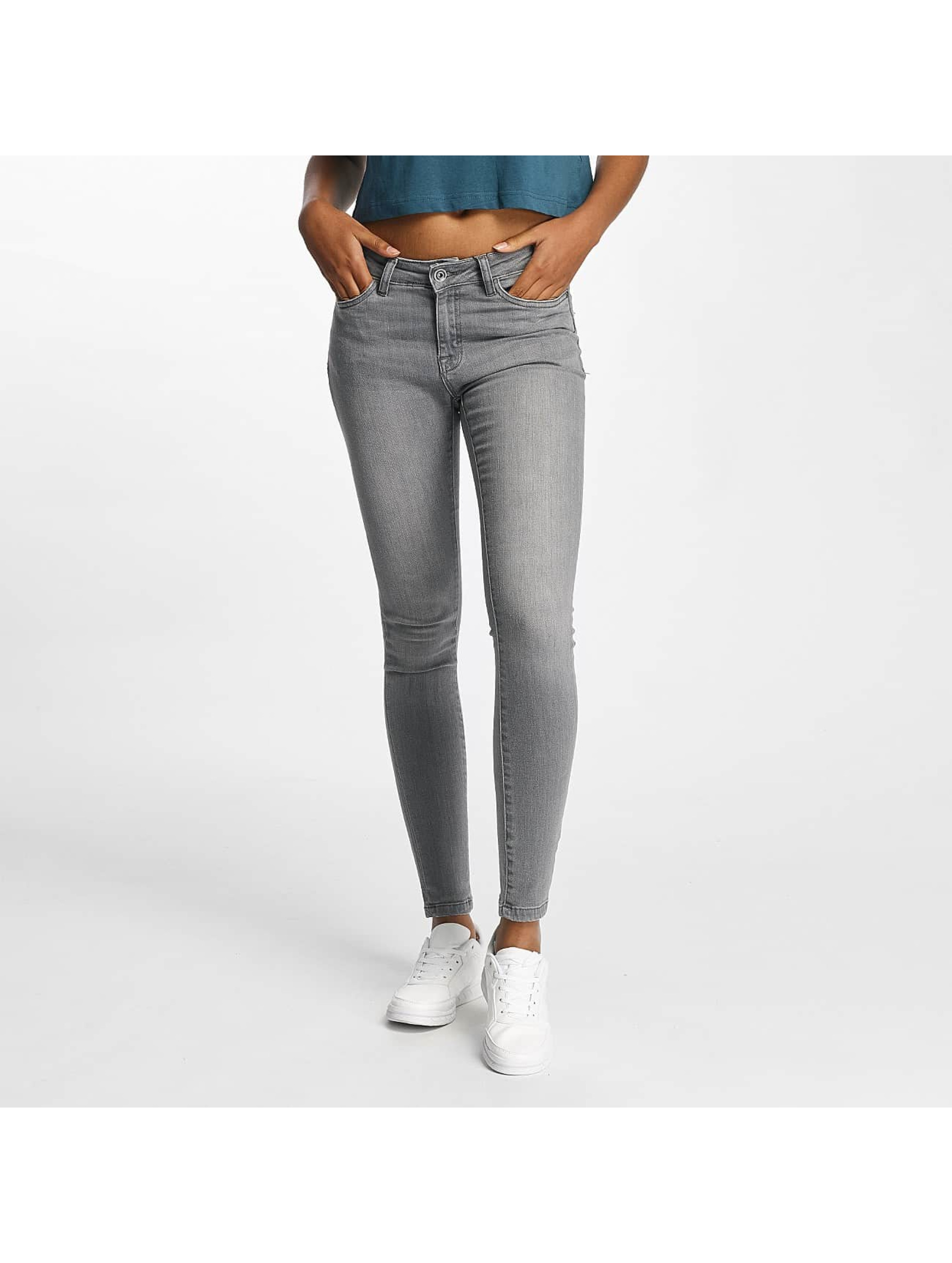 Urban Classics Skinny jeans Skinny Denim grijs