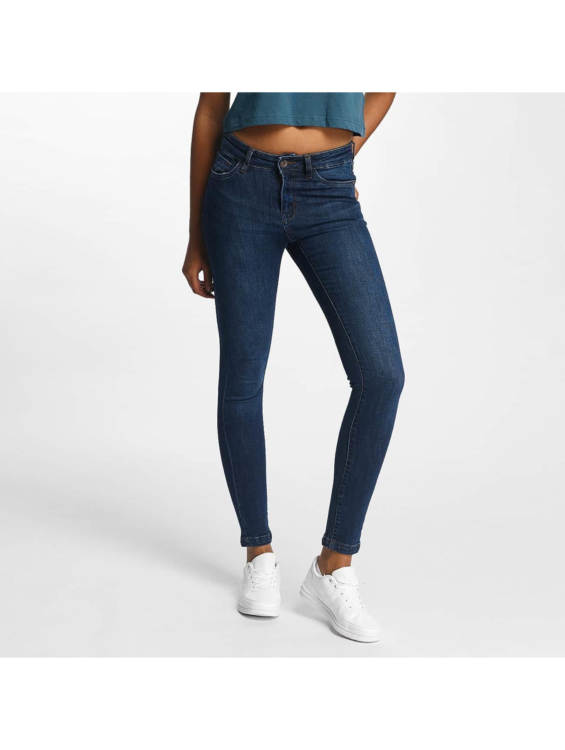 Urban Classics Skinny Jeans Skinny Denim modrý