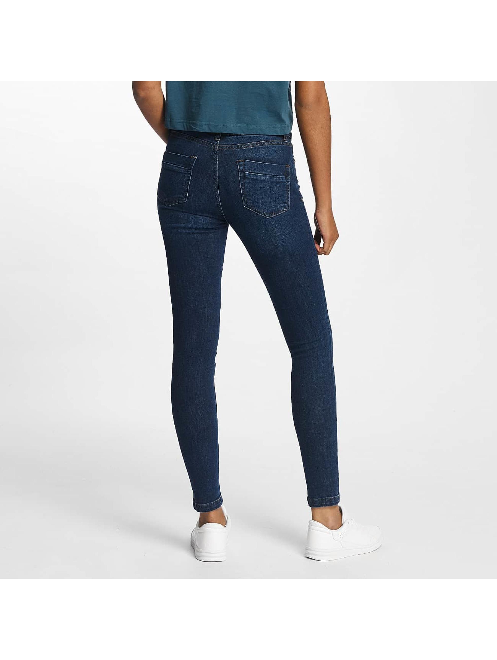 Urban Classics Skinny Jeans Skinny Denim niebieski