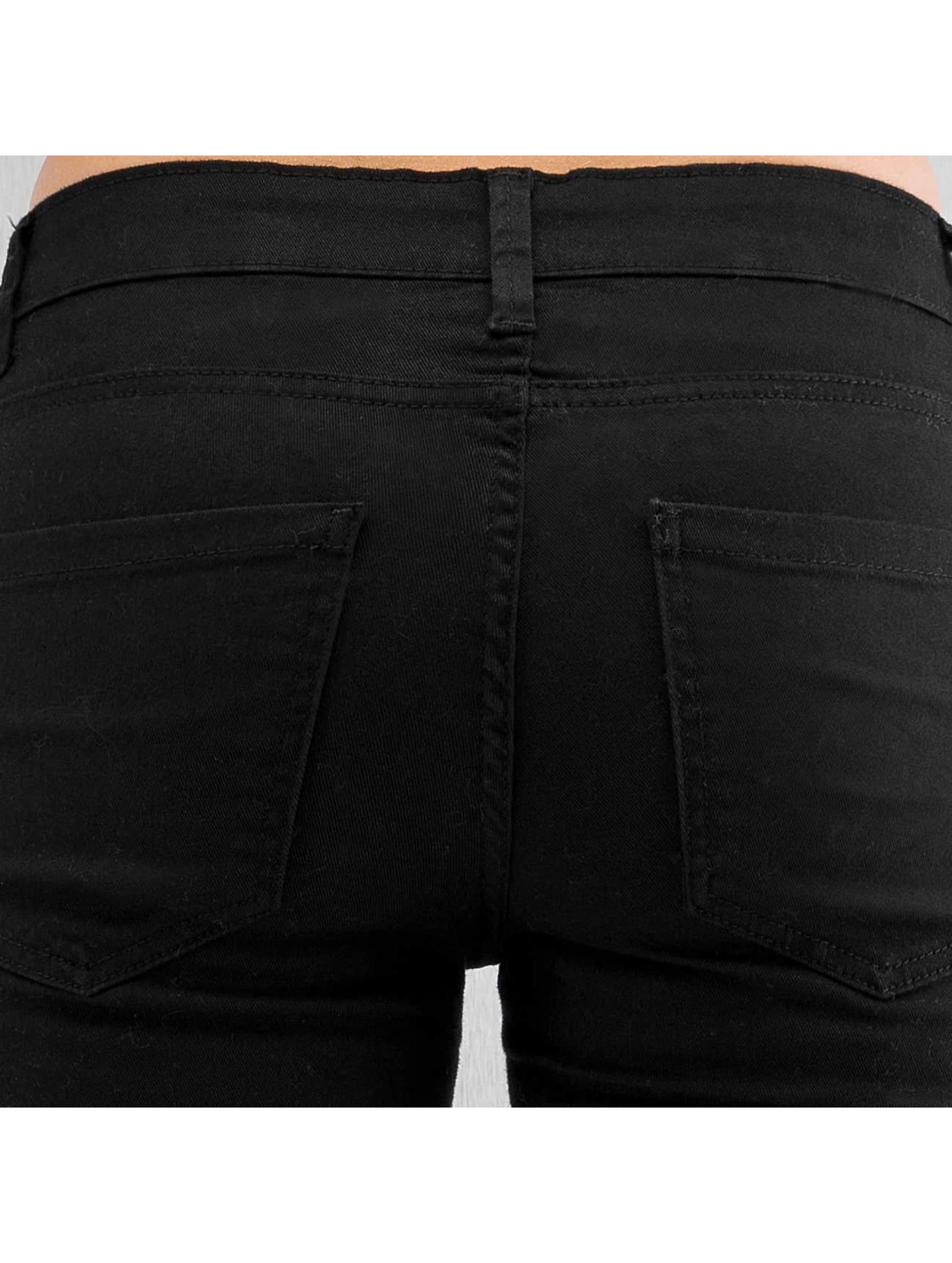Urban Classics Skinny jeans Ladies zwart