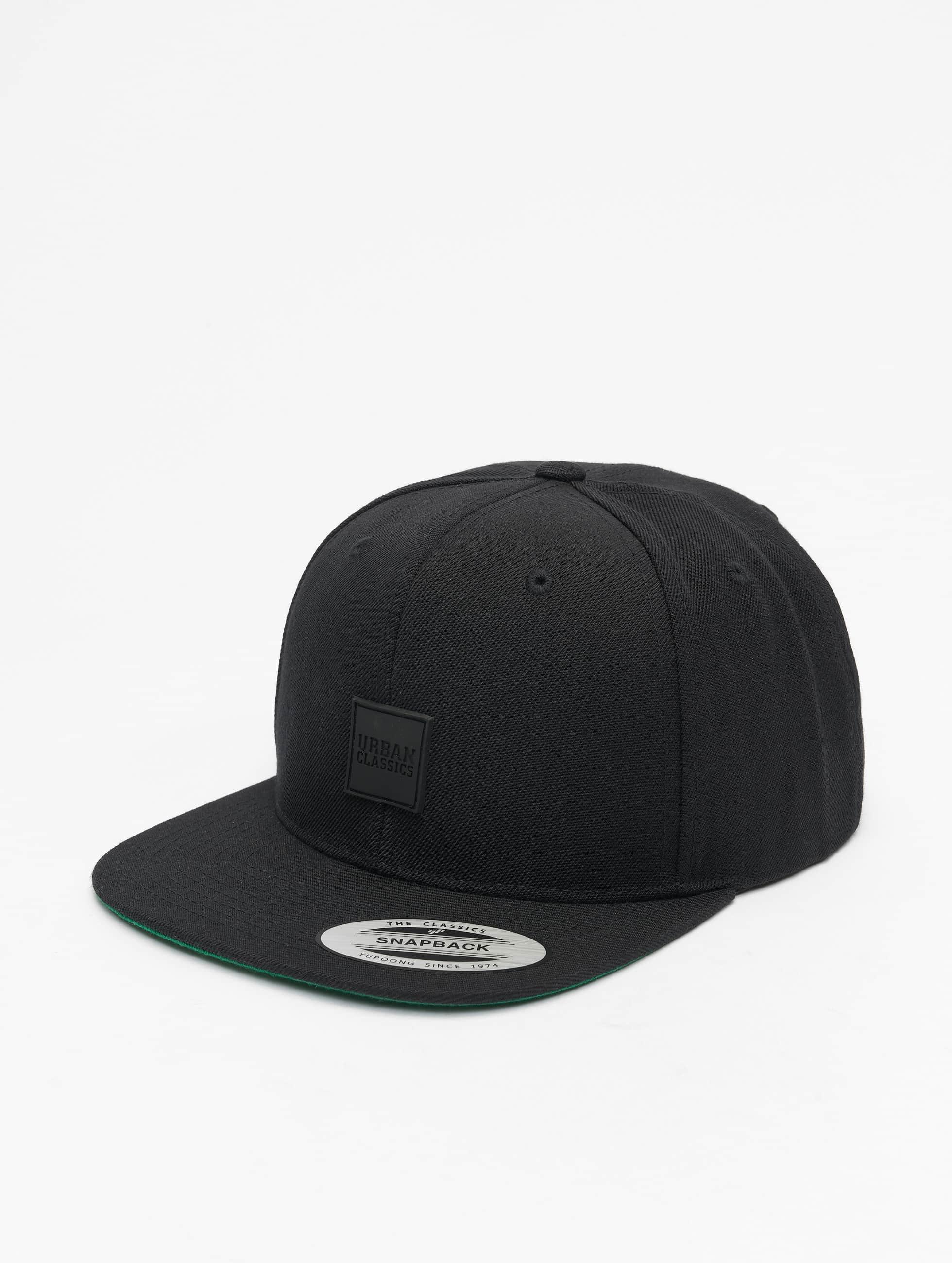 Urban Classics snapback cap Patch zwart