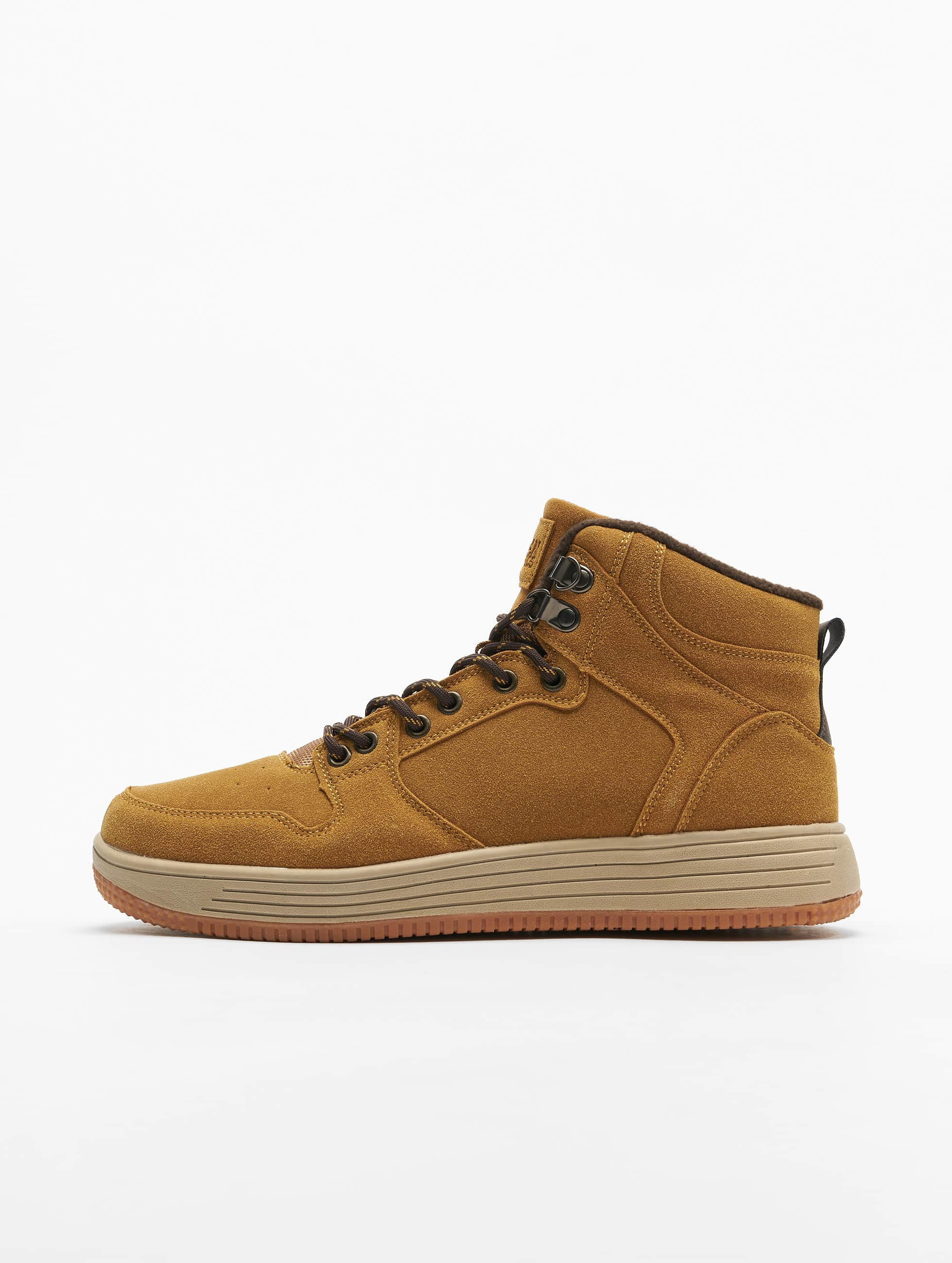 Urban Classics High Top Winter Sneakers Honey