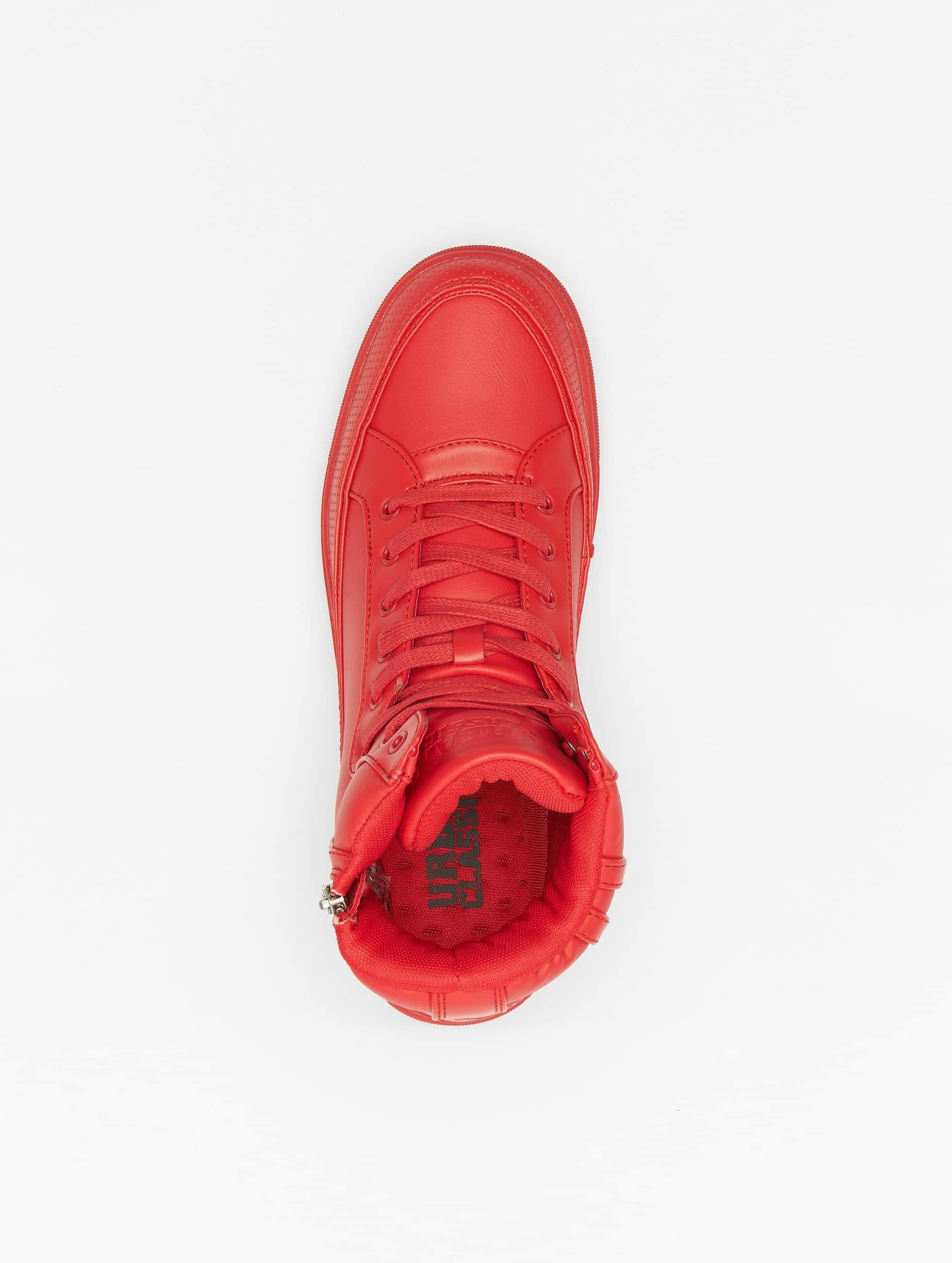 Urban Classics sneaker Zipper rood
