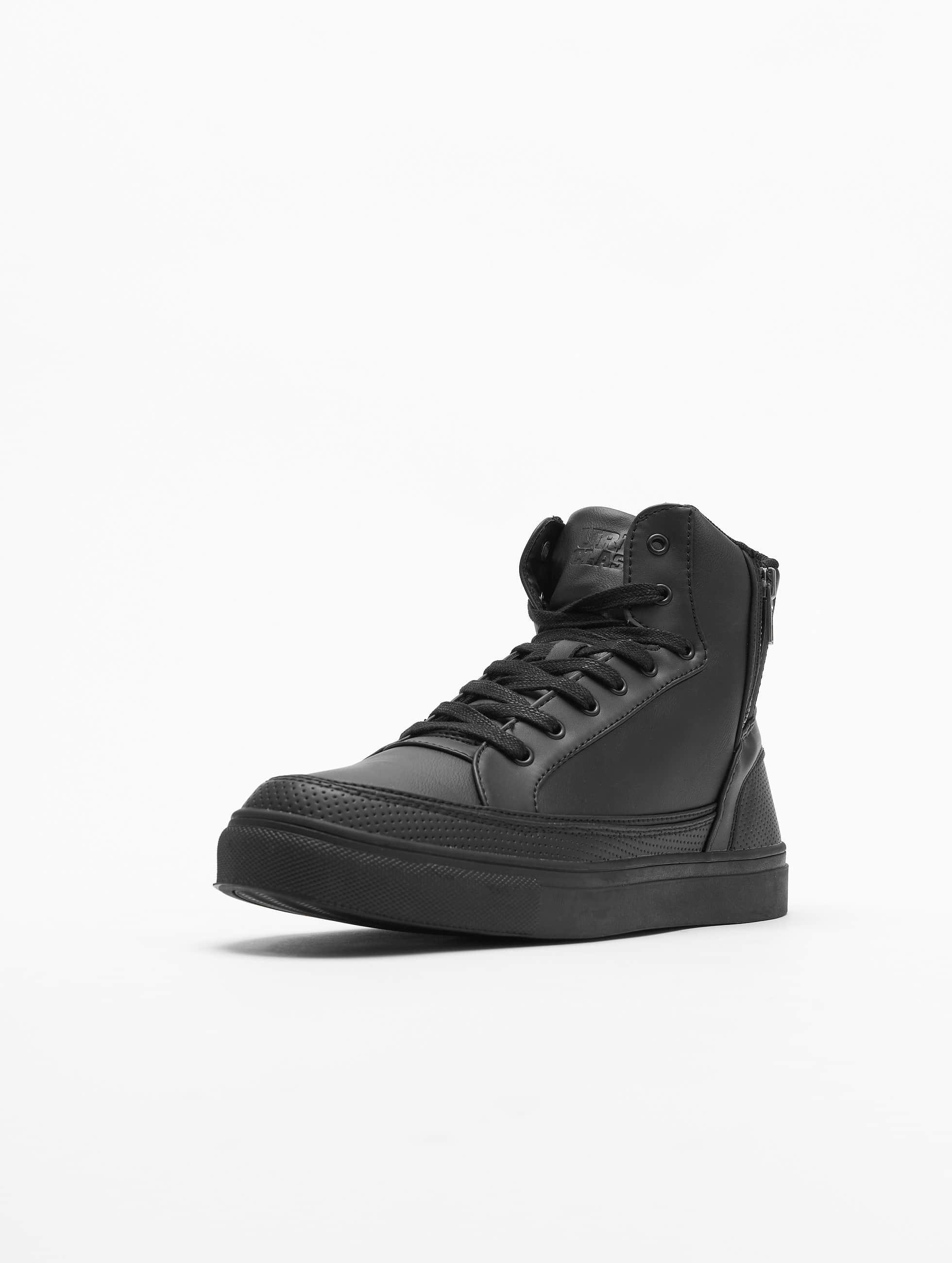 Urban Classics sneaker Zipper zwart