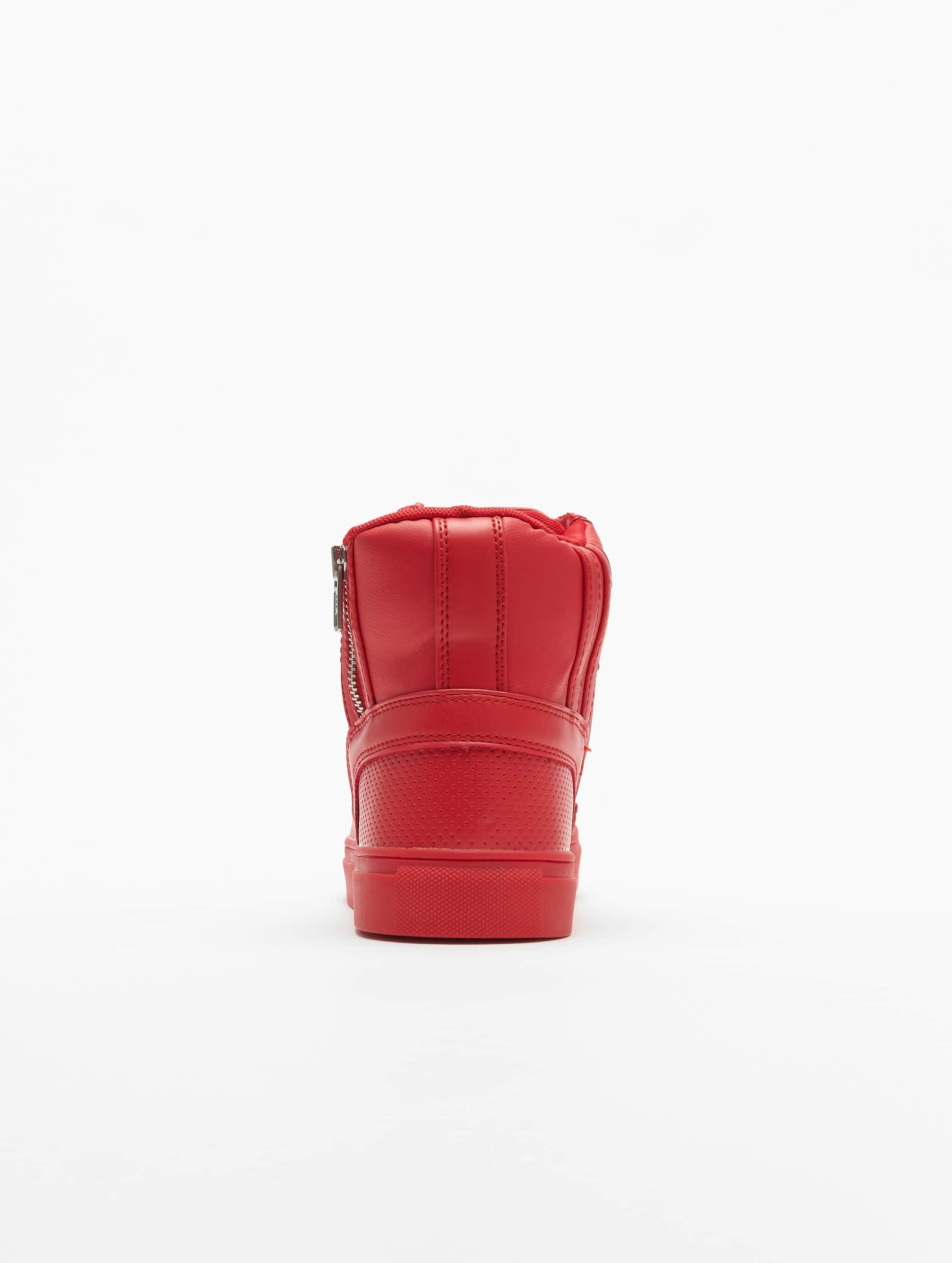 Urban Classics Sneakers Zipper czerwony