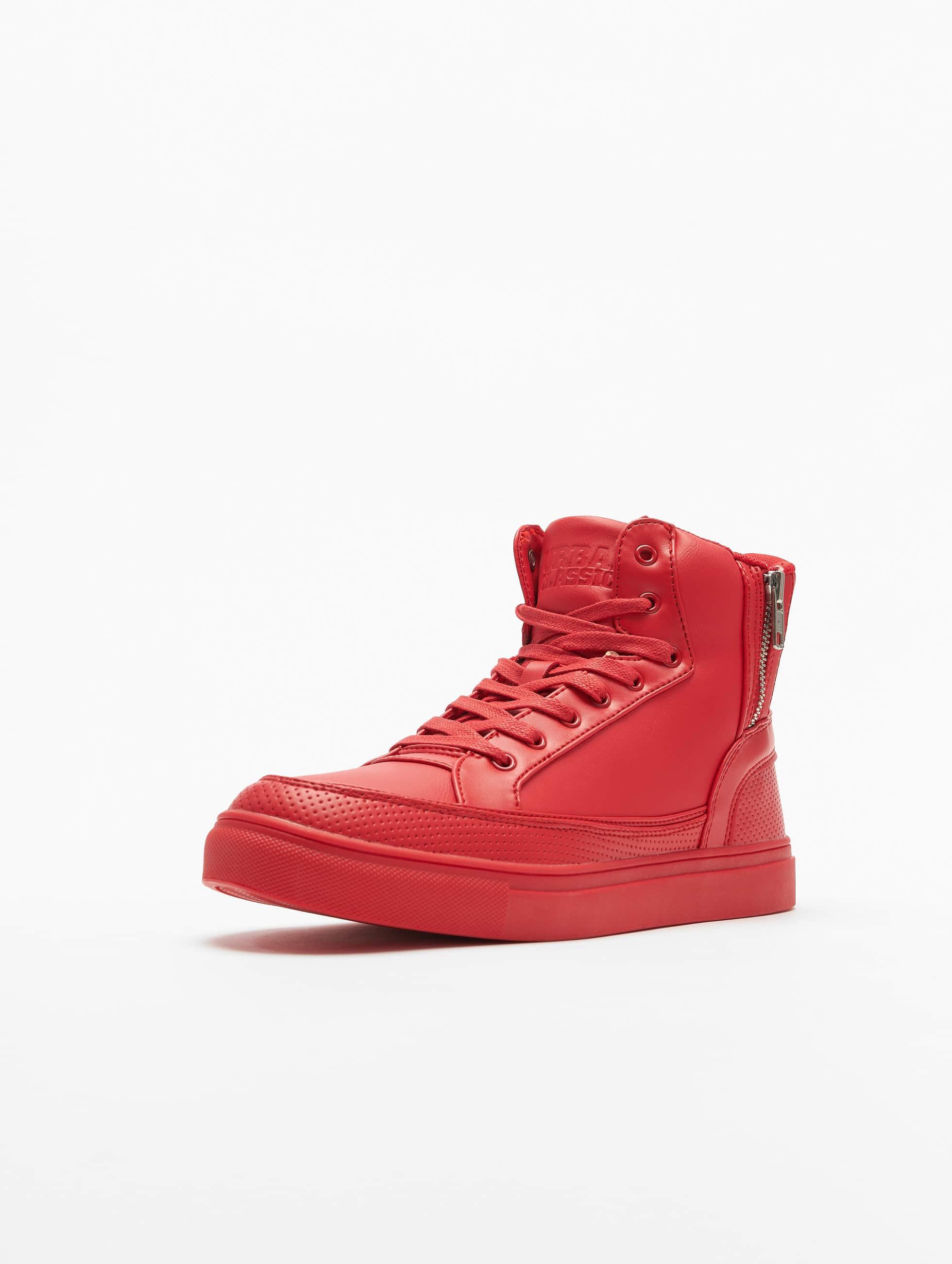 Urban Classics Sneakers Zipper röd