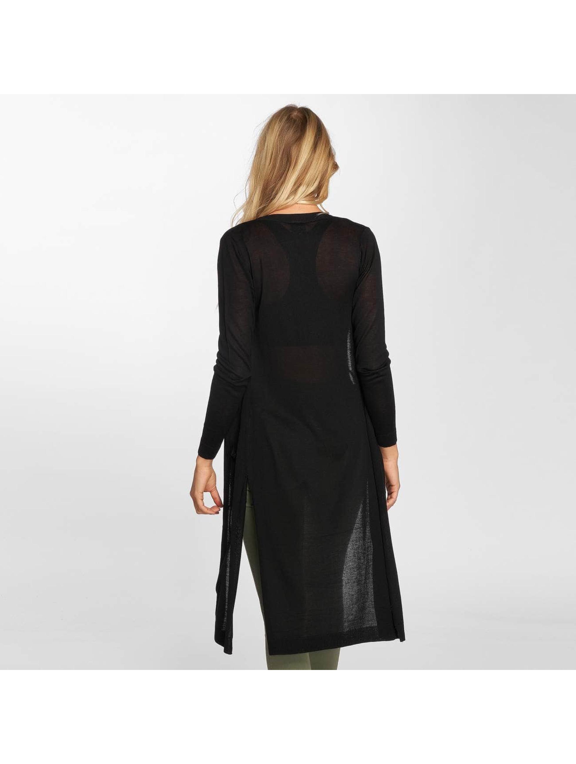 Urban Classics Strickjacke Ladies Fine Knit schwarz