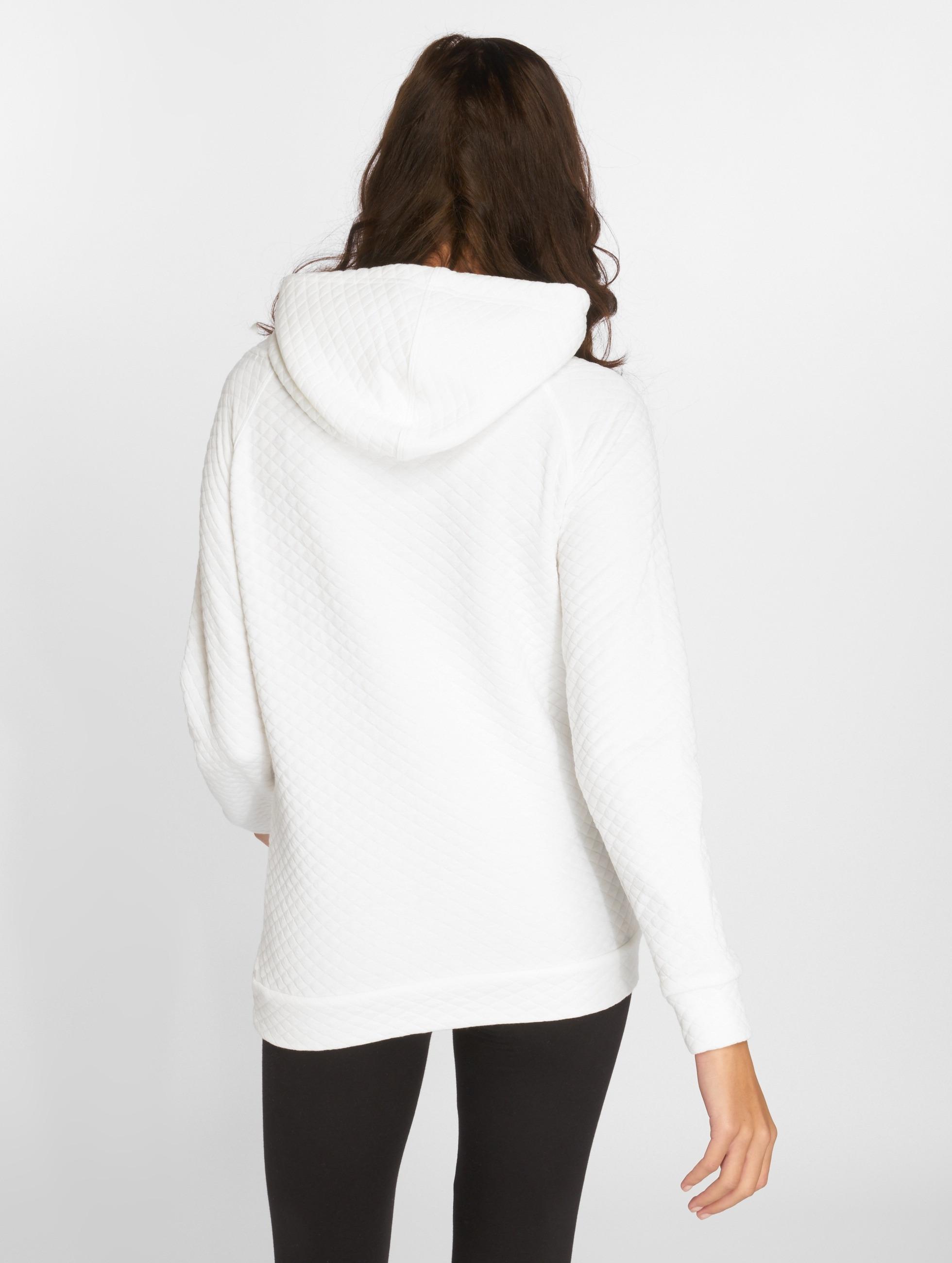 Urban Classics Sweat capuche Quilt blanc
