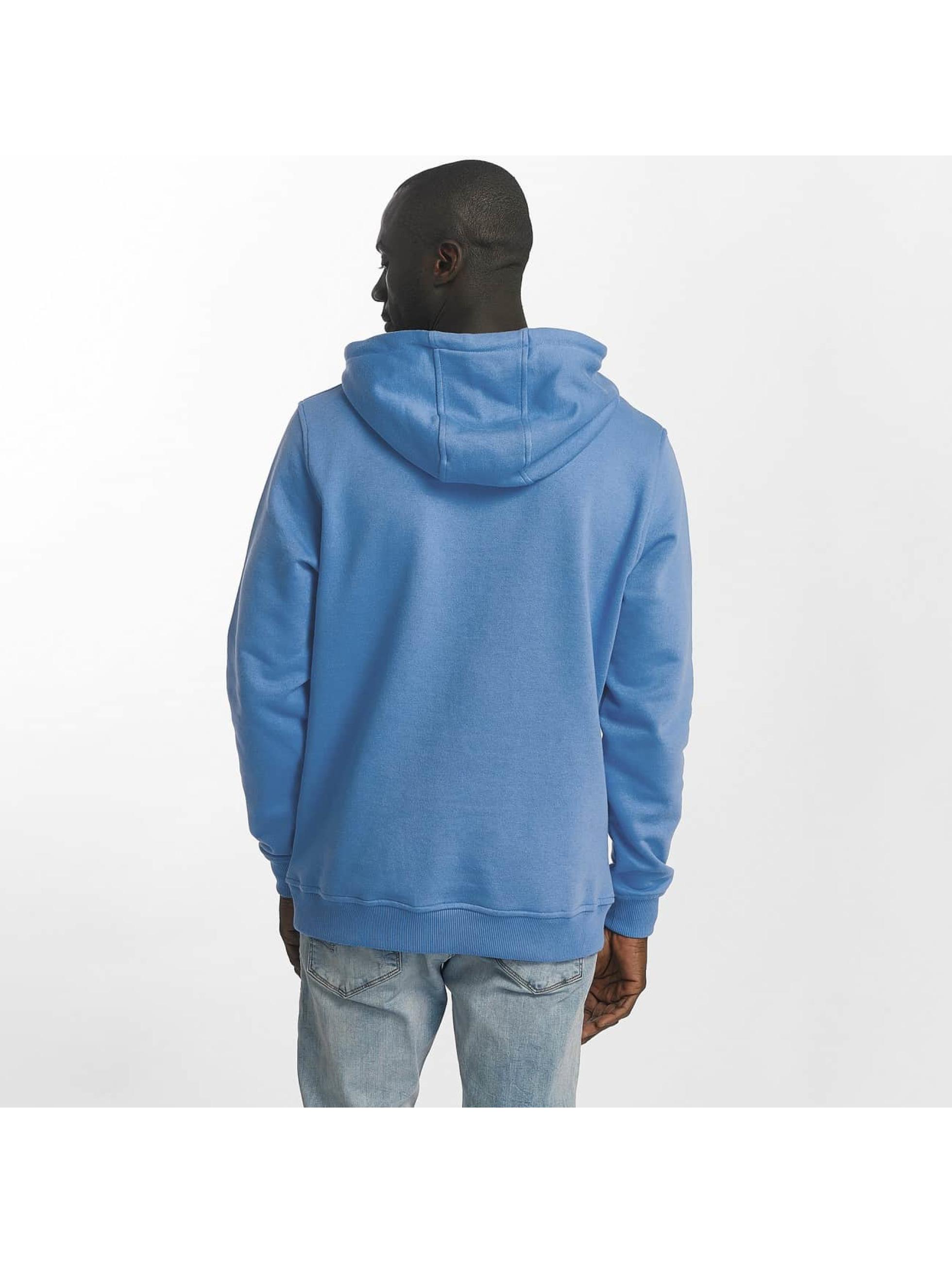 Urban Classics Sweat capuche Basic bleu