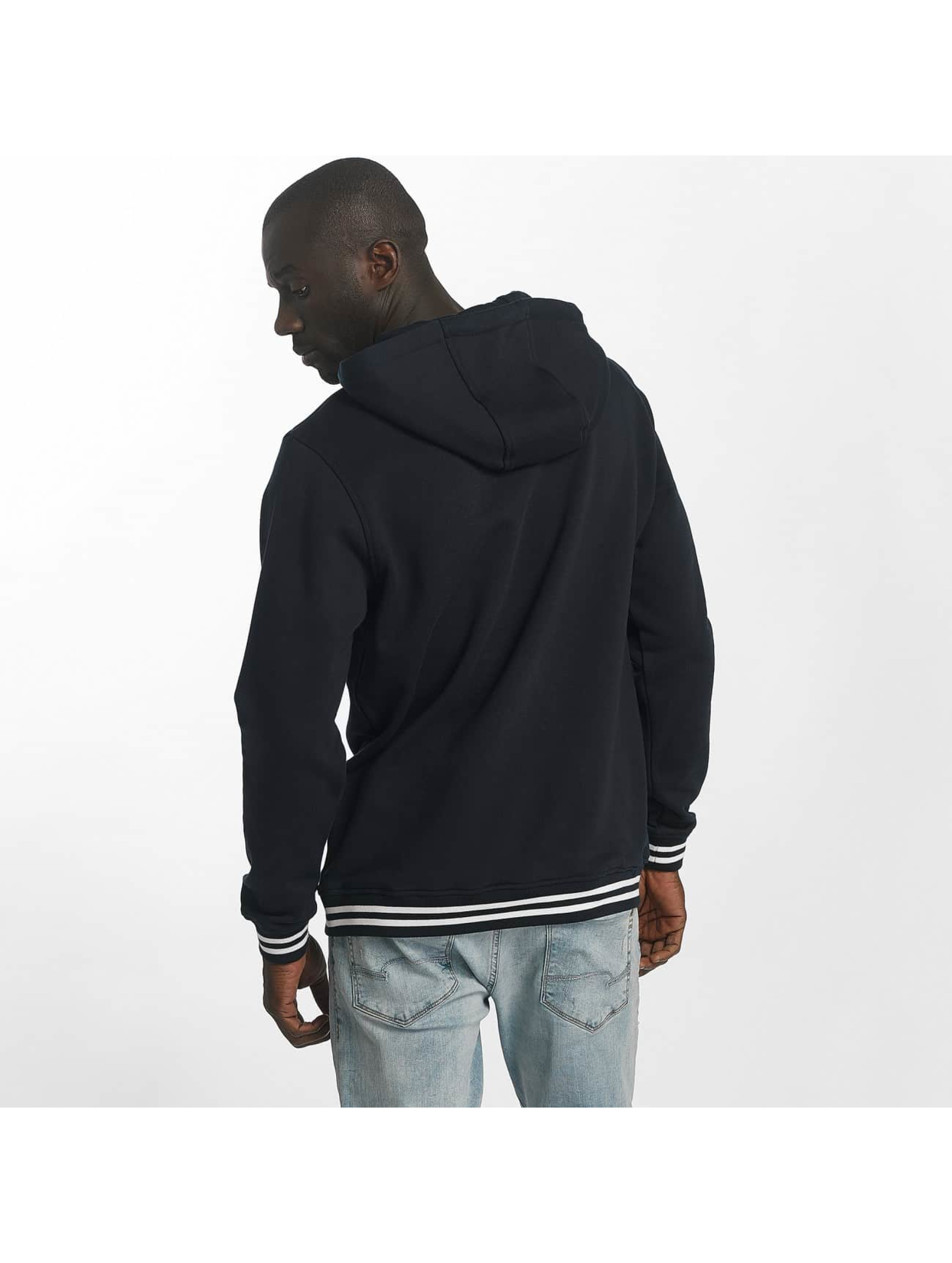 Urban Classics Sweat capuche College bleu