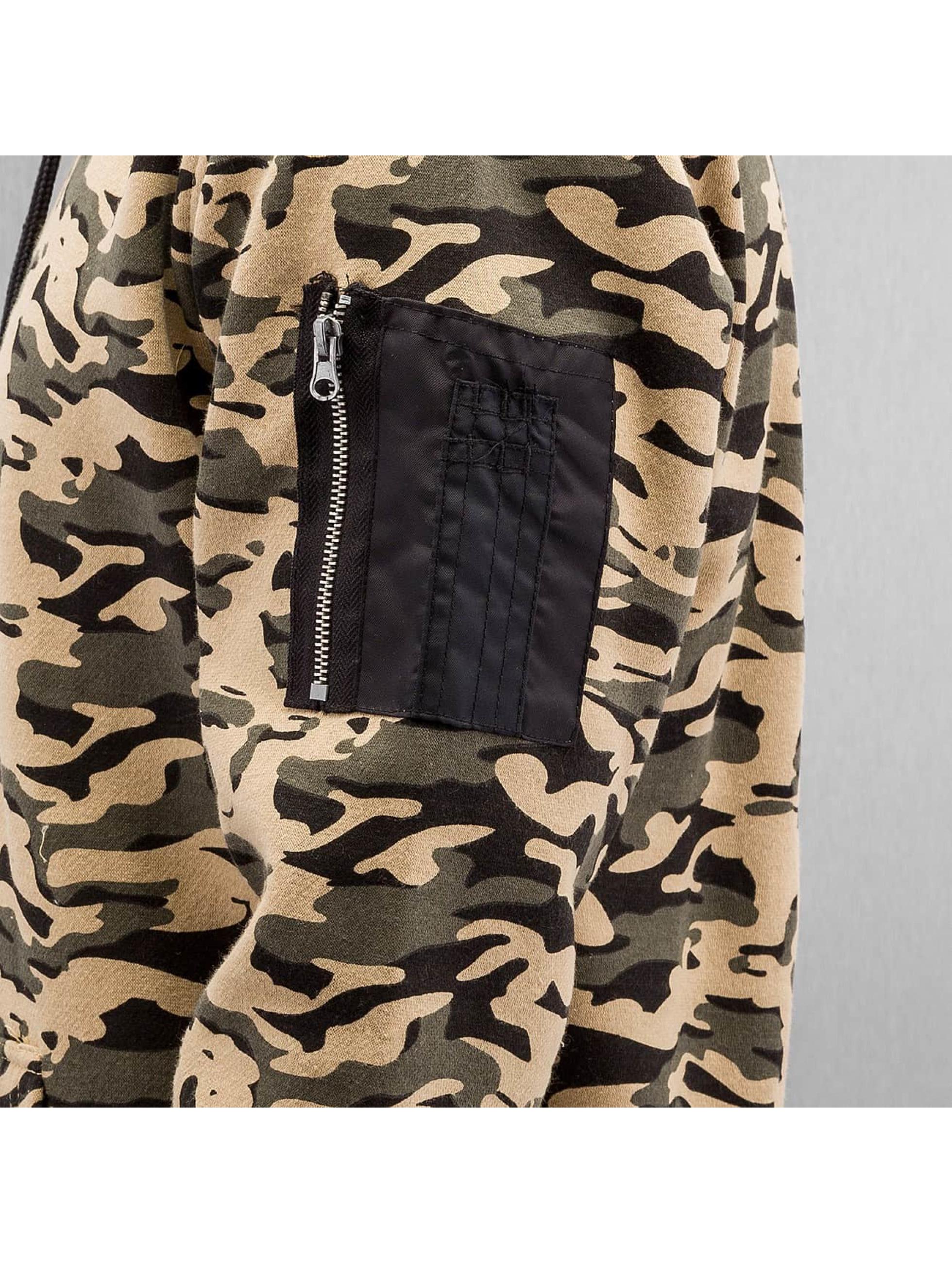 Urban Classics Sweat capuche Sweat Camo Bomber camouflage