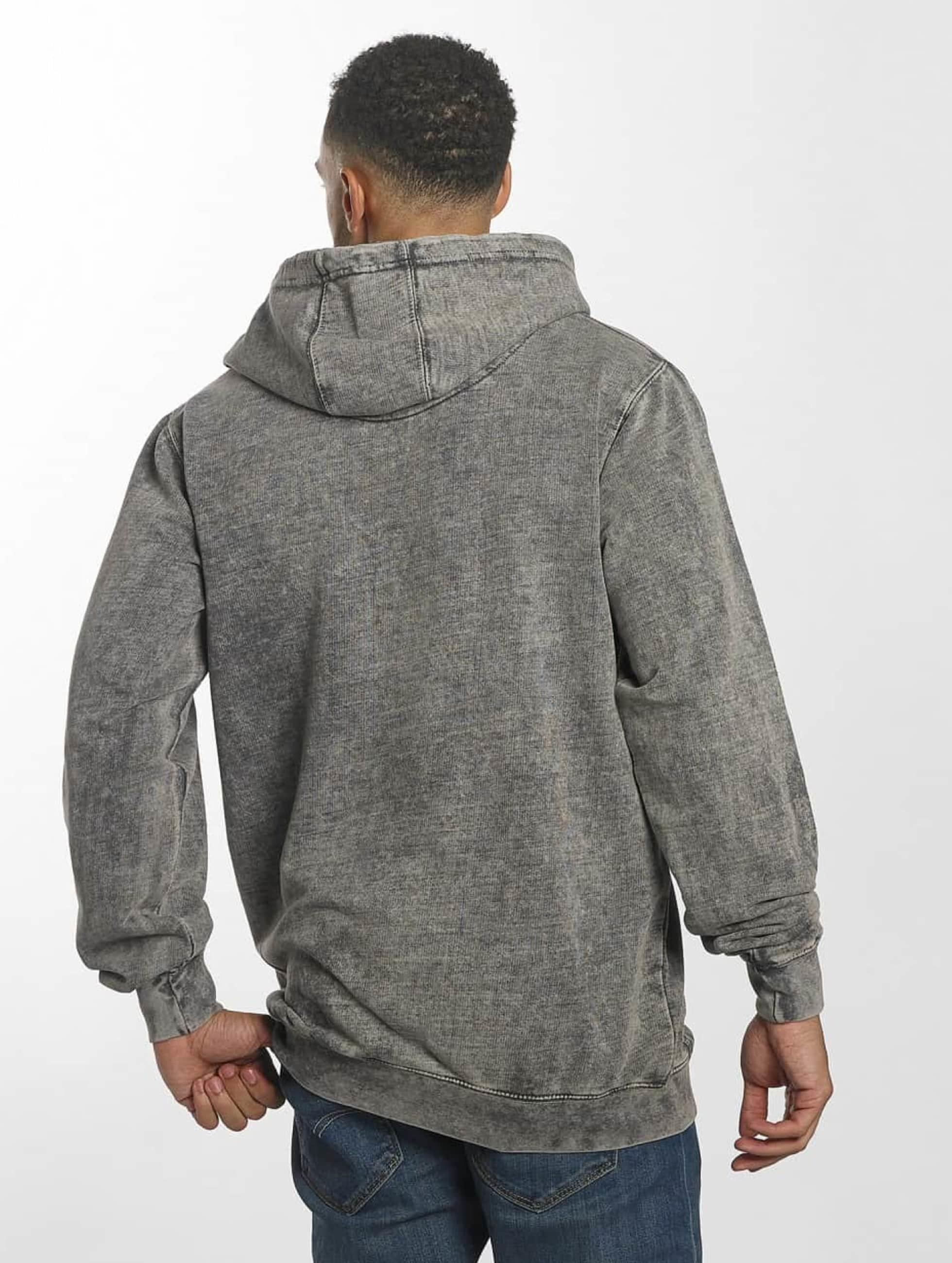 Urban Classics Sweat capuche Vintage gris