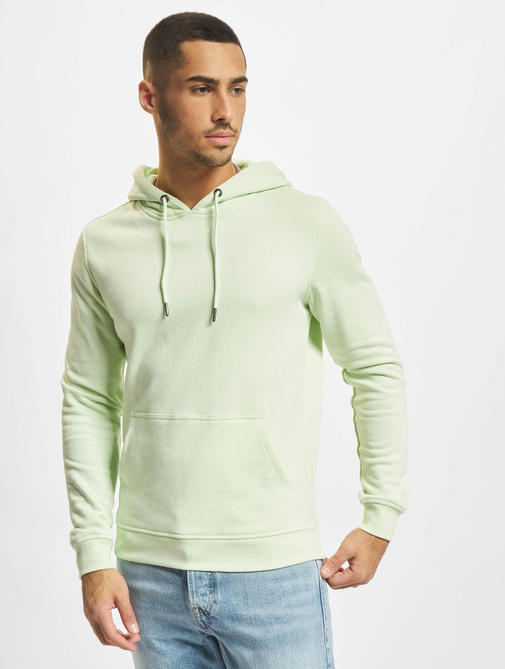 Urban Classics Sweat capuche Basic vert
