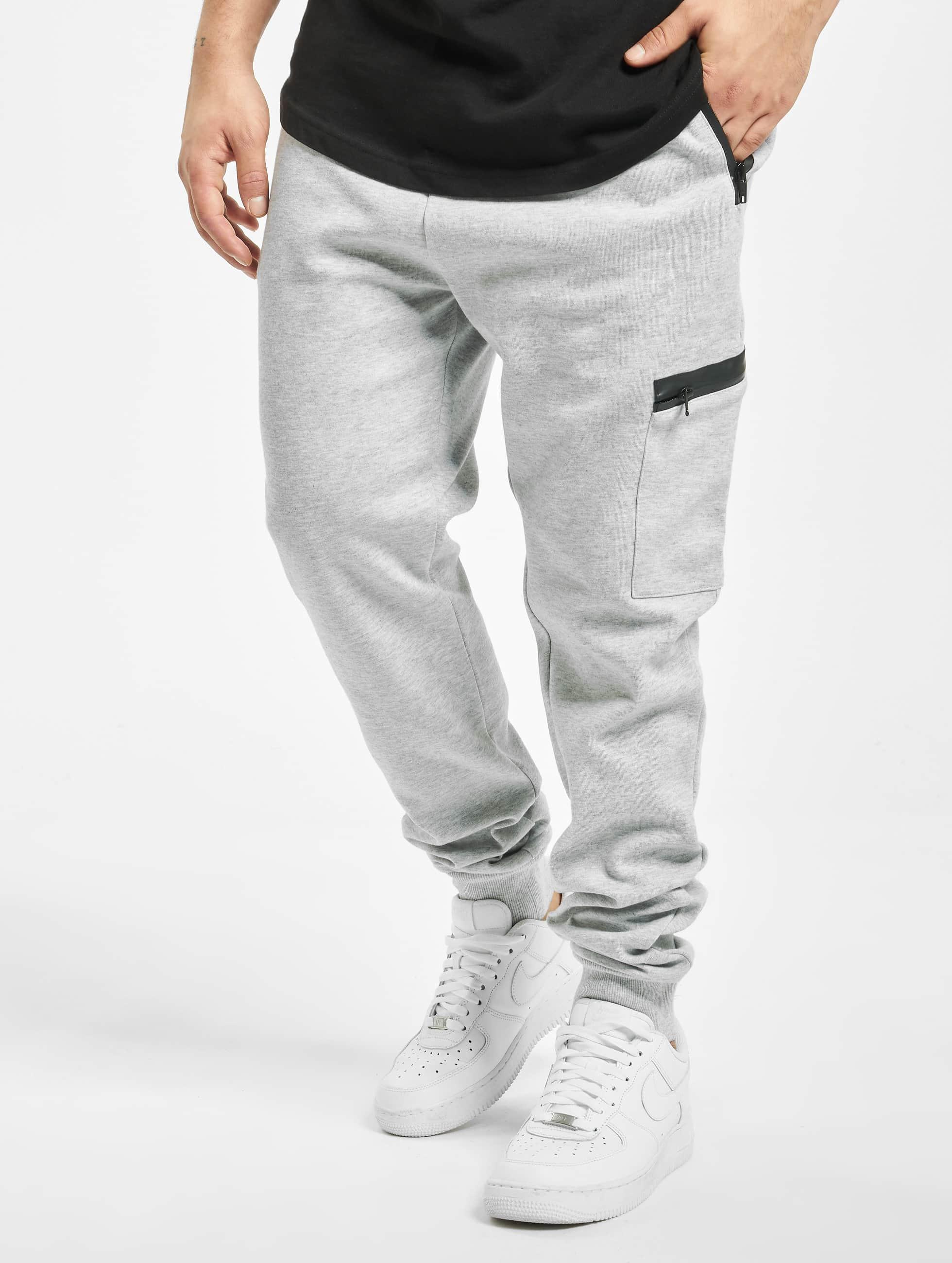 Urban Classics Sweat Pant Athletic Interlock gray