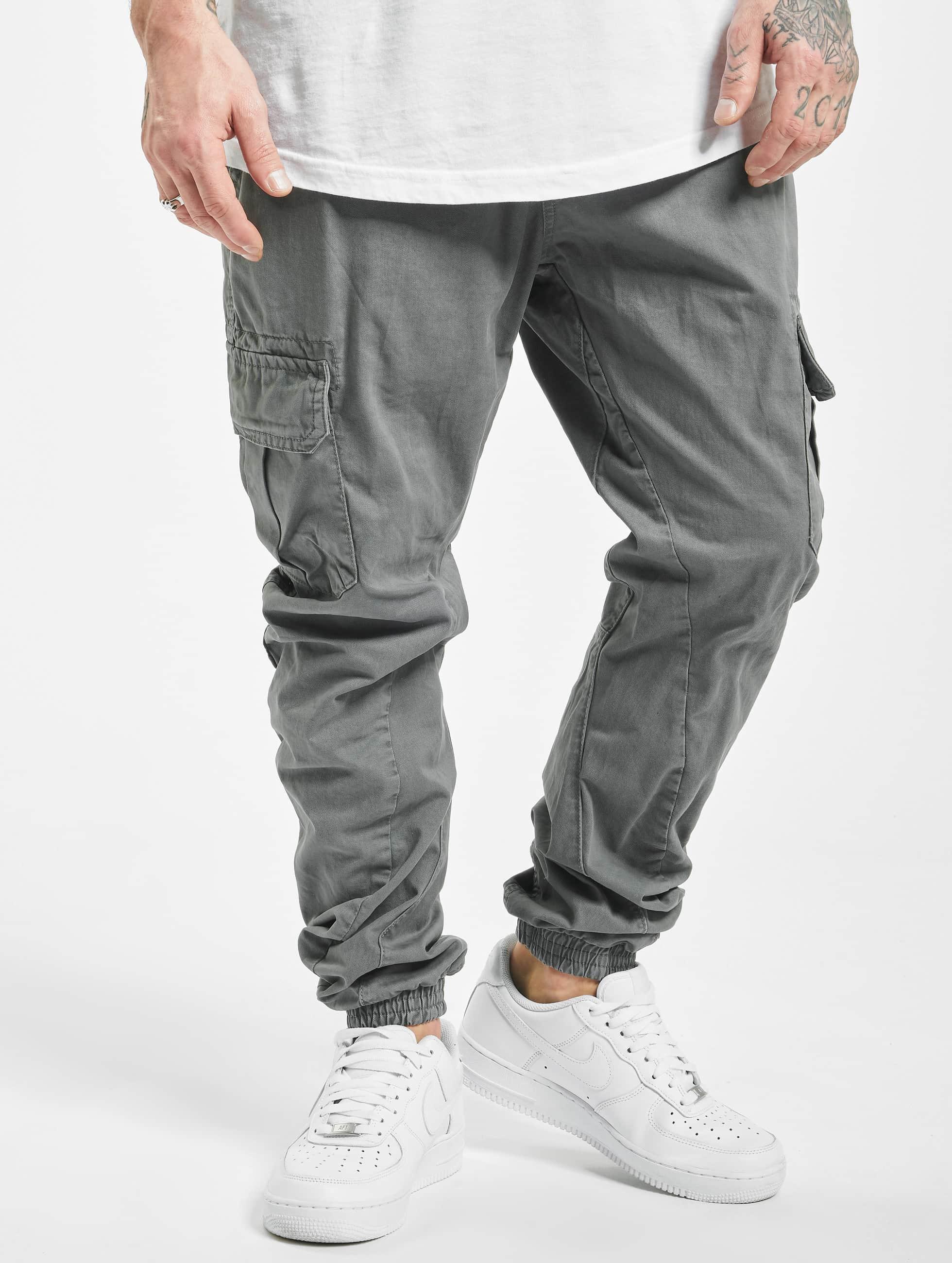 Urban Classics Sweat Pant Cargo Jogging grey