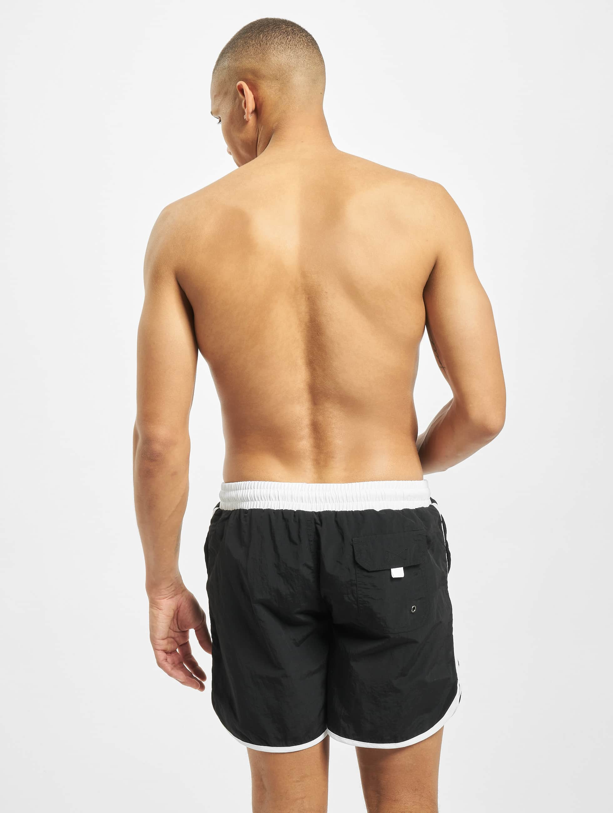 Urban Classics Swim shorts Retro black