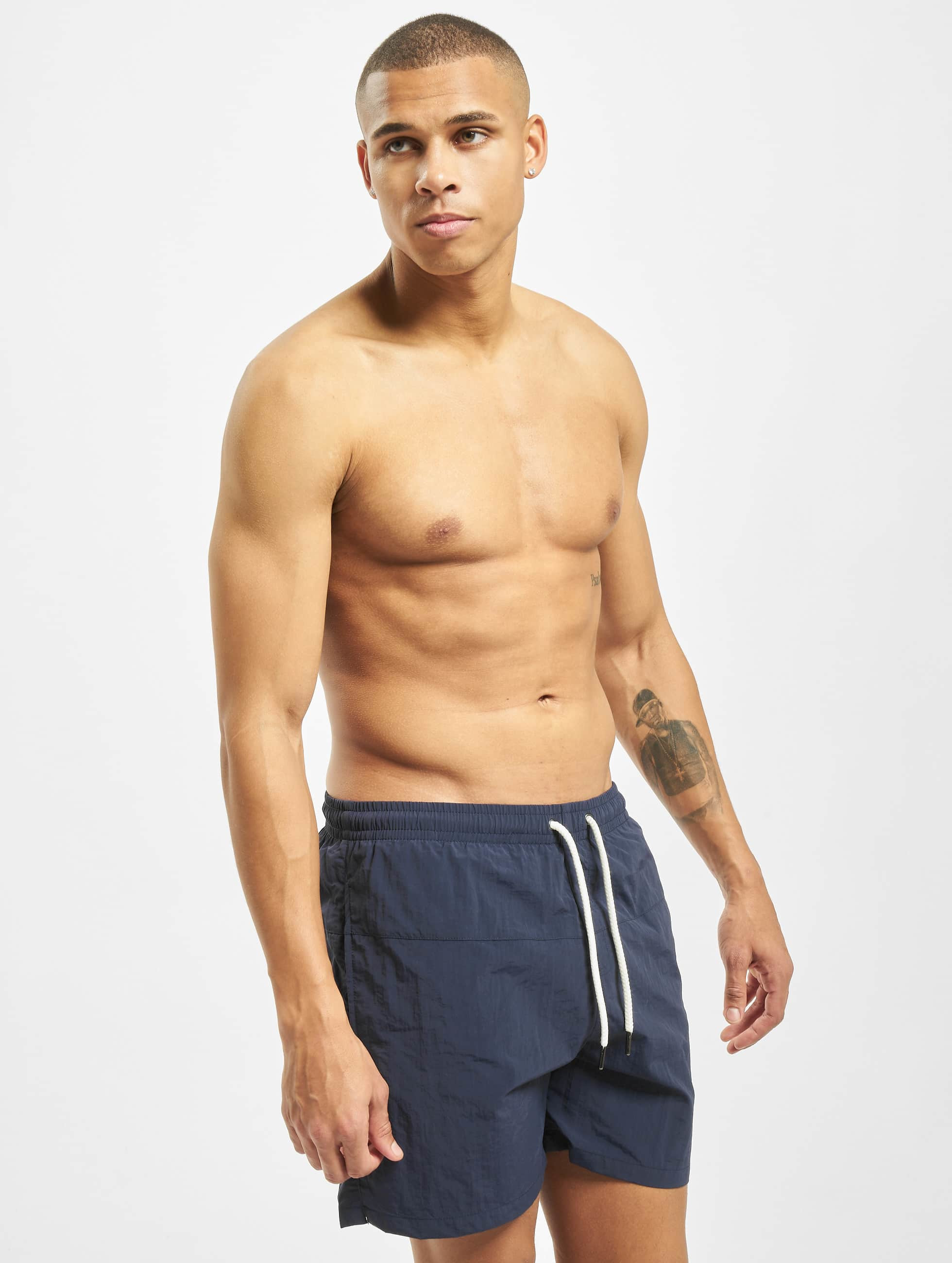 Urban Classics Swim shorts Block blue