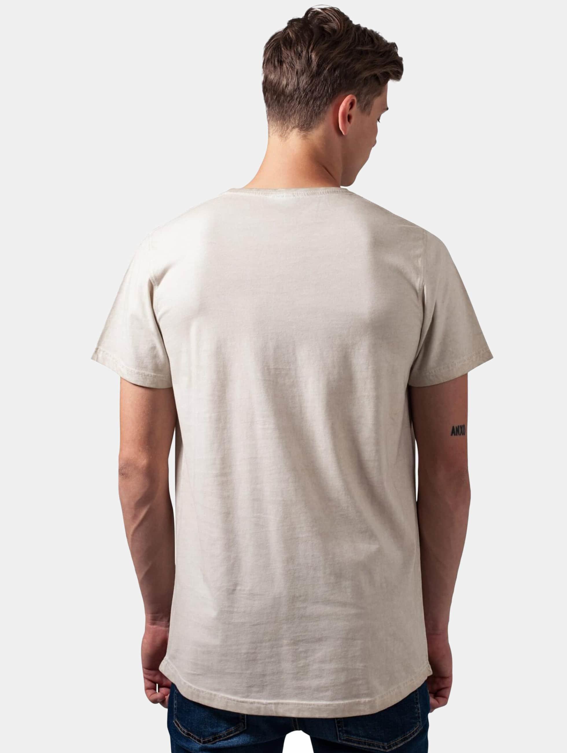 Urban Classics T-paidat Shaped Long Cold Dye beige