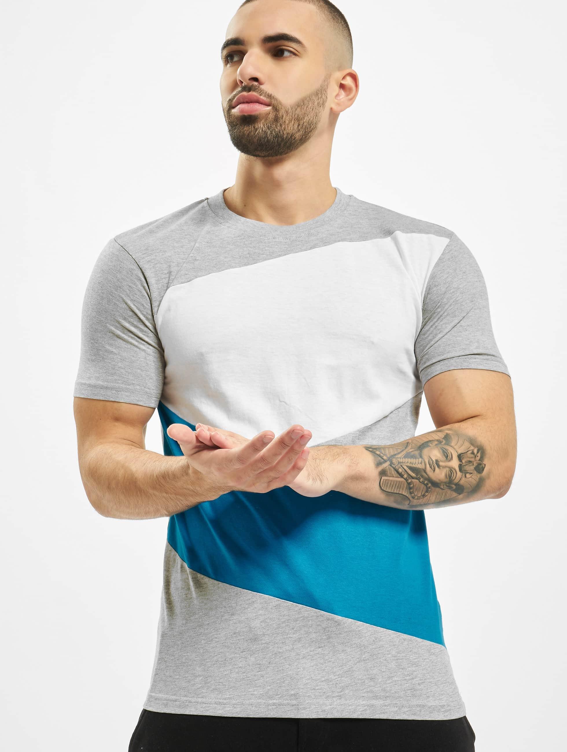 Urban Classics T-paidat Zig Zag harmaa