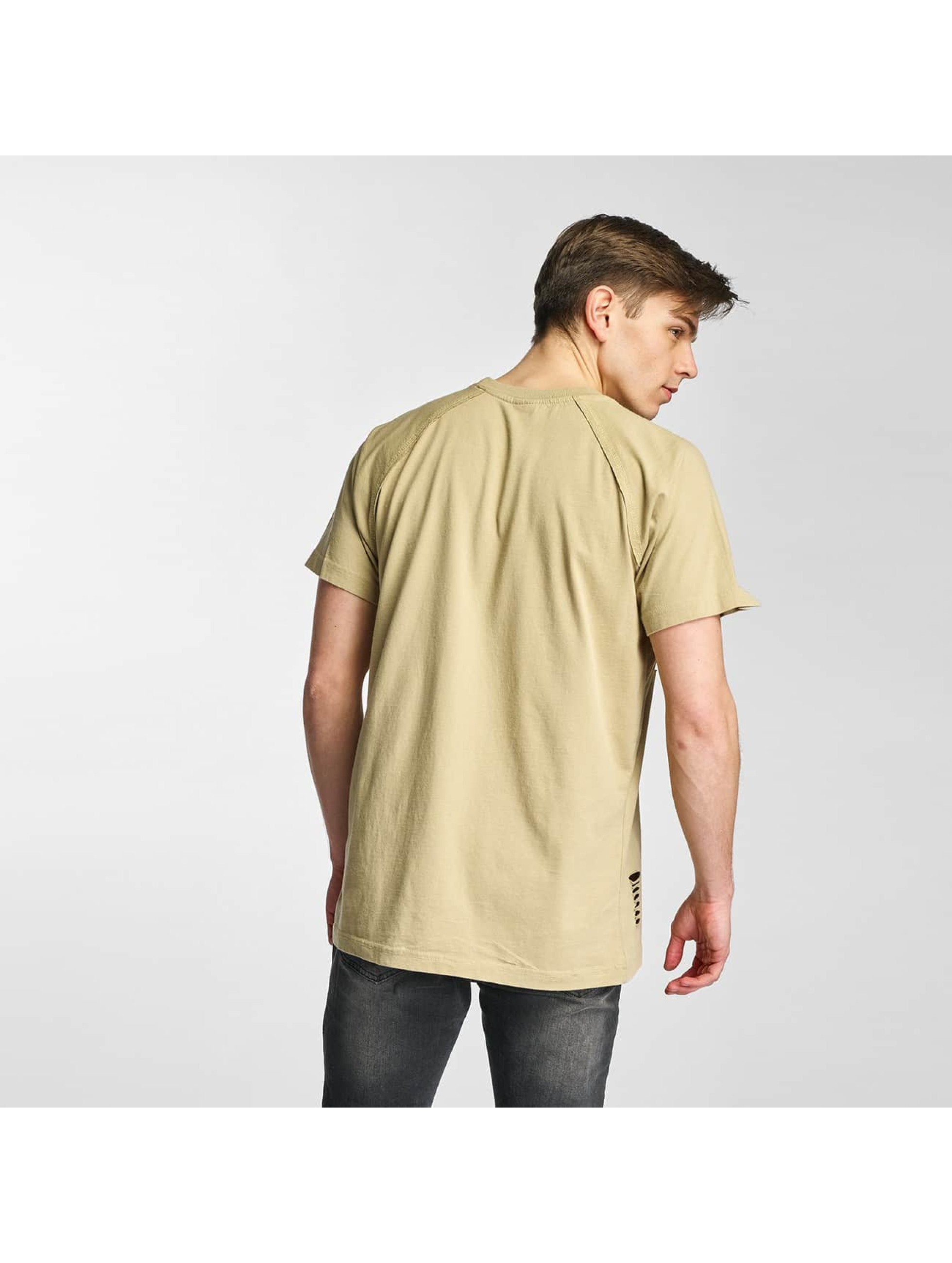 urban classics herren t shirt ripped in beige 305568. Black Bedroom Furniture Sets. Home Design Ideas
