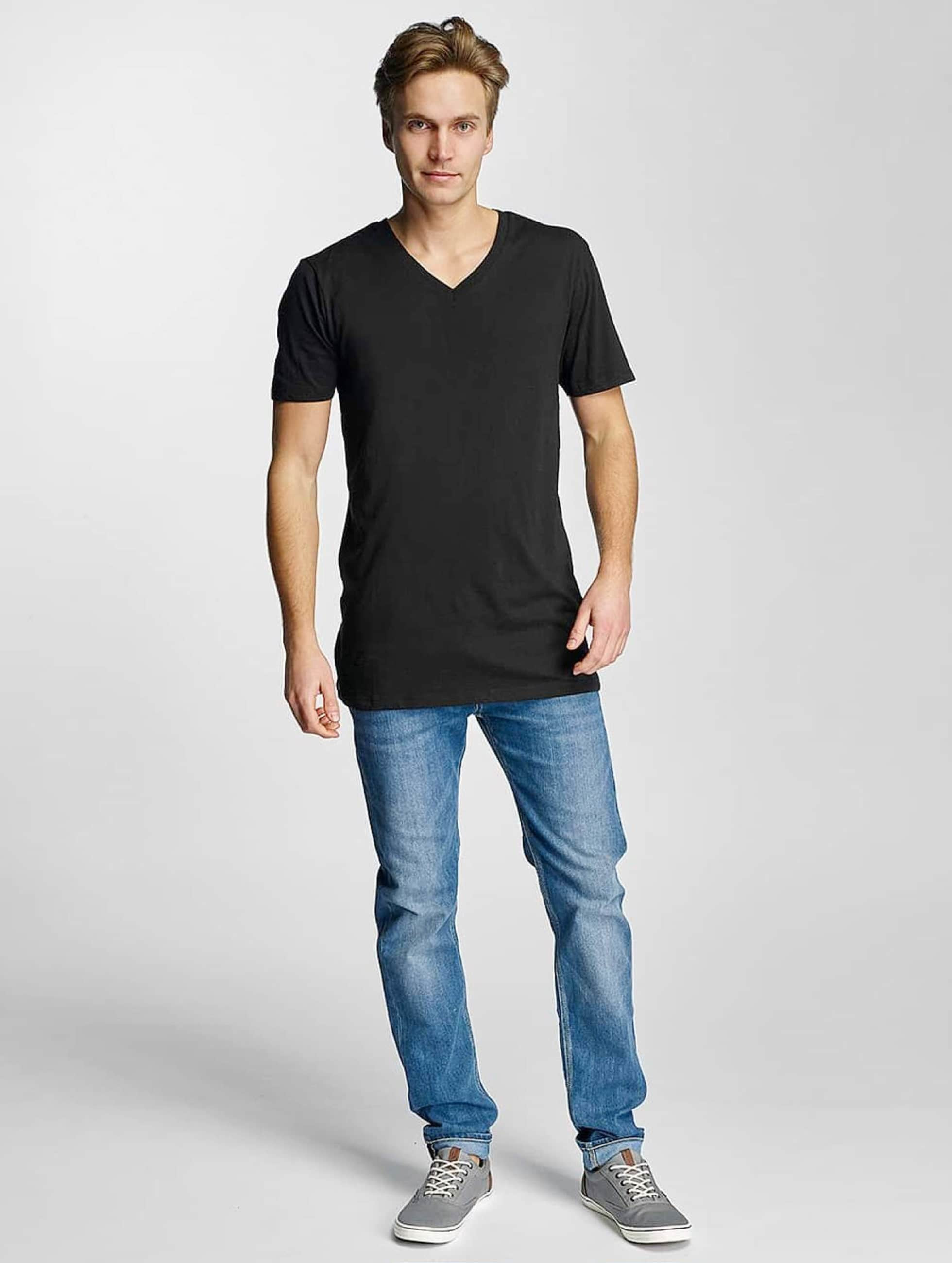 Urban Classics T-Shirt Basic V-Neck black