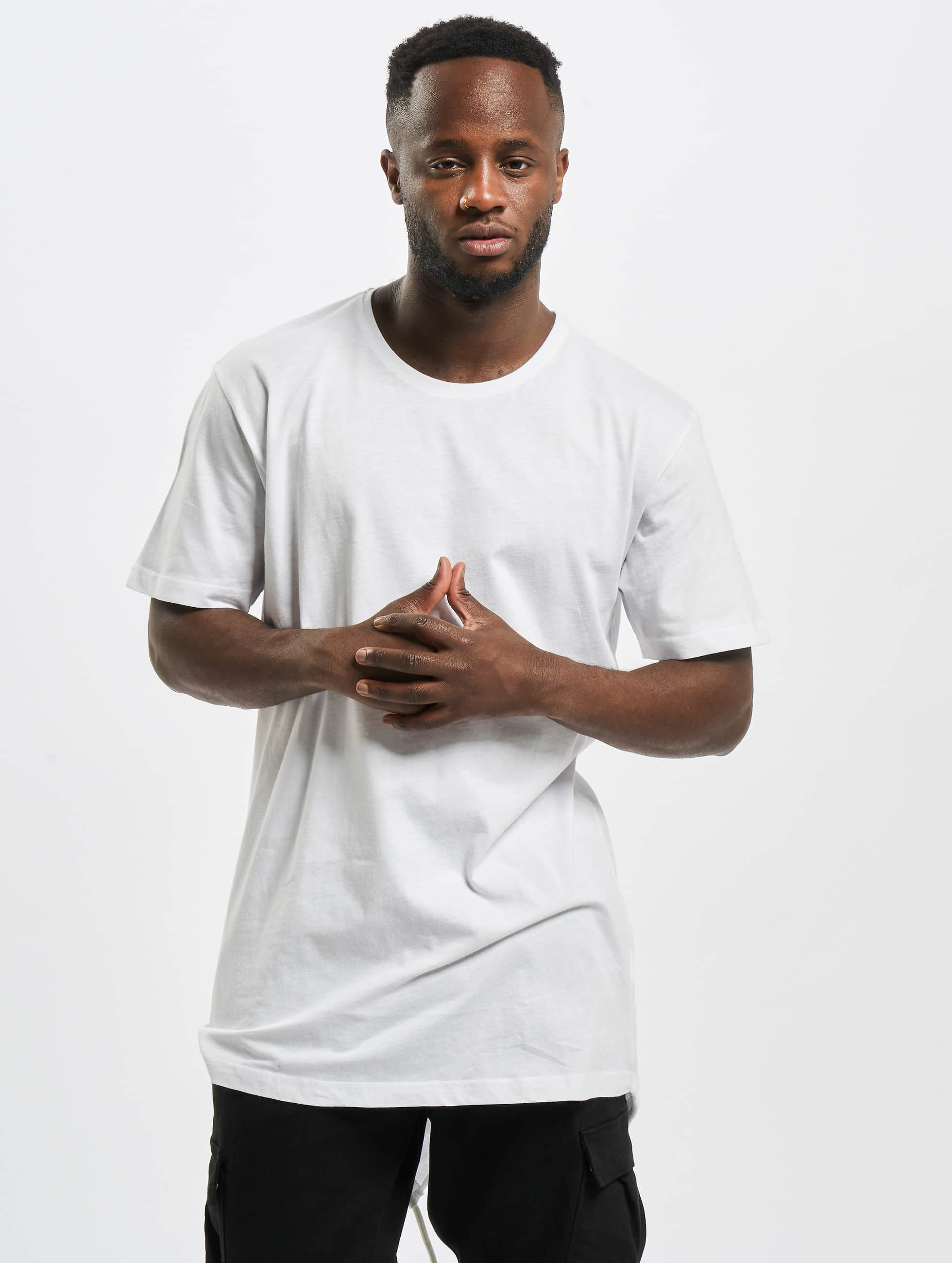 Urban Classics T-Shirt Long Tail blanc