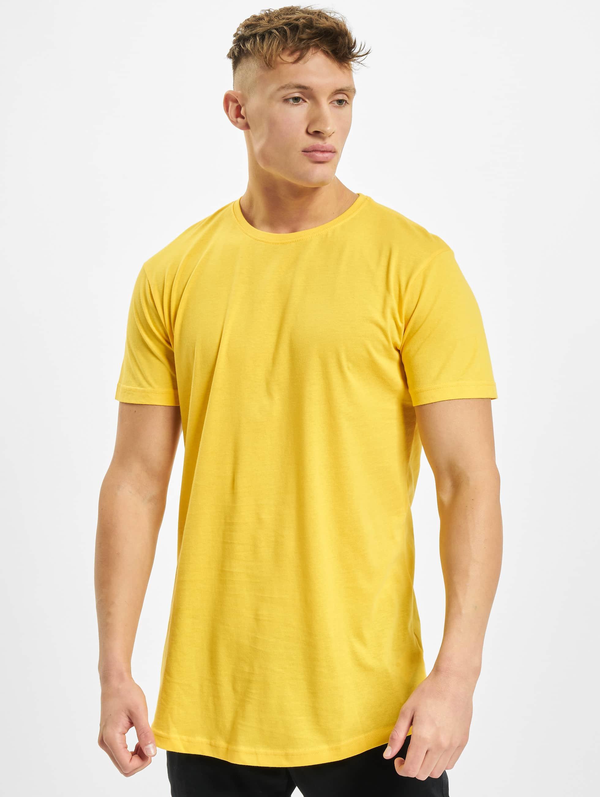 Urban Classics t-shirt Shaped Oversized Long geel