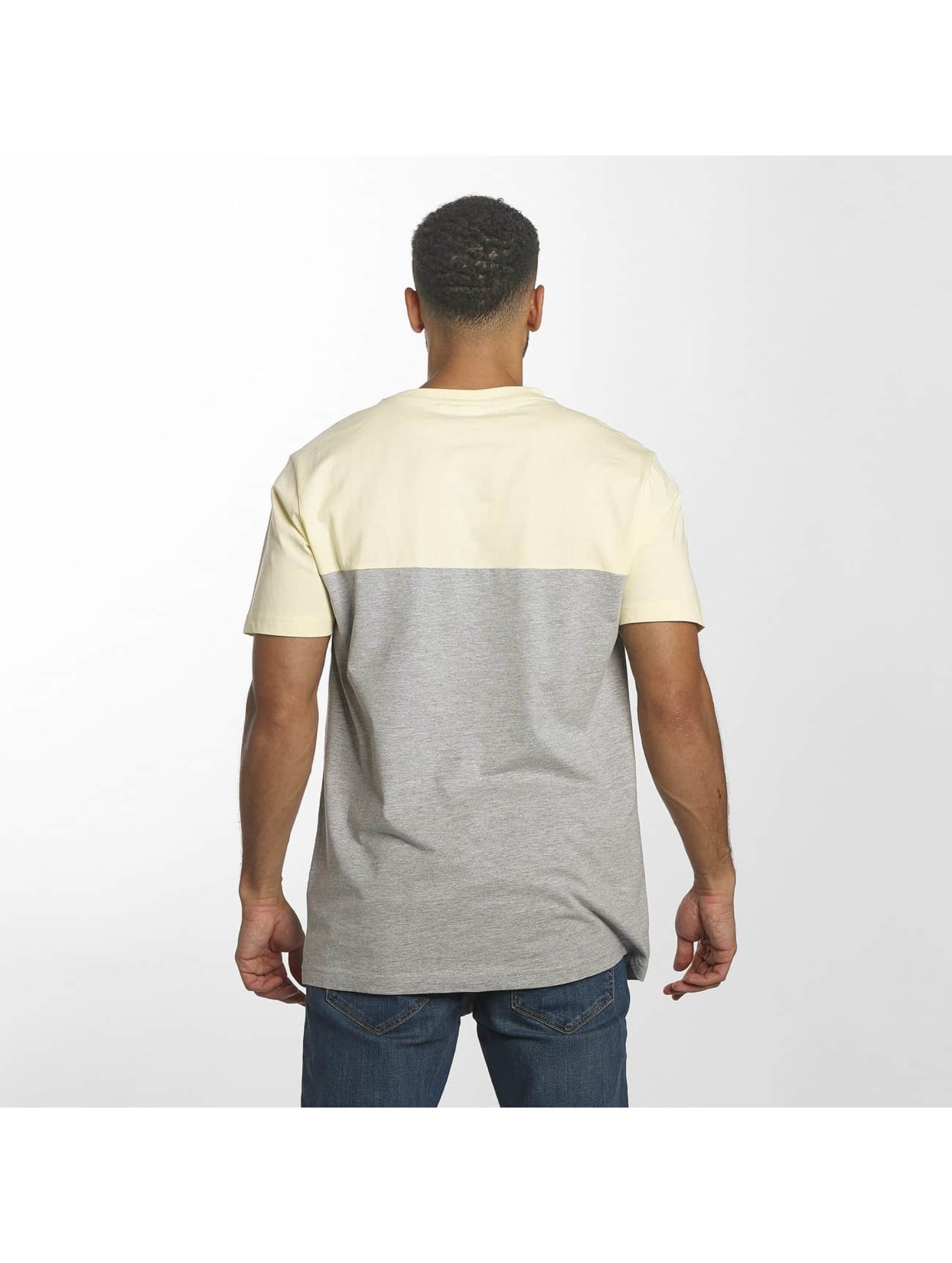Urban Classics T-shirt Color Block Summer Pocket grigio