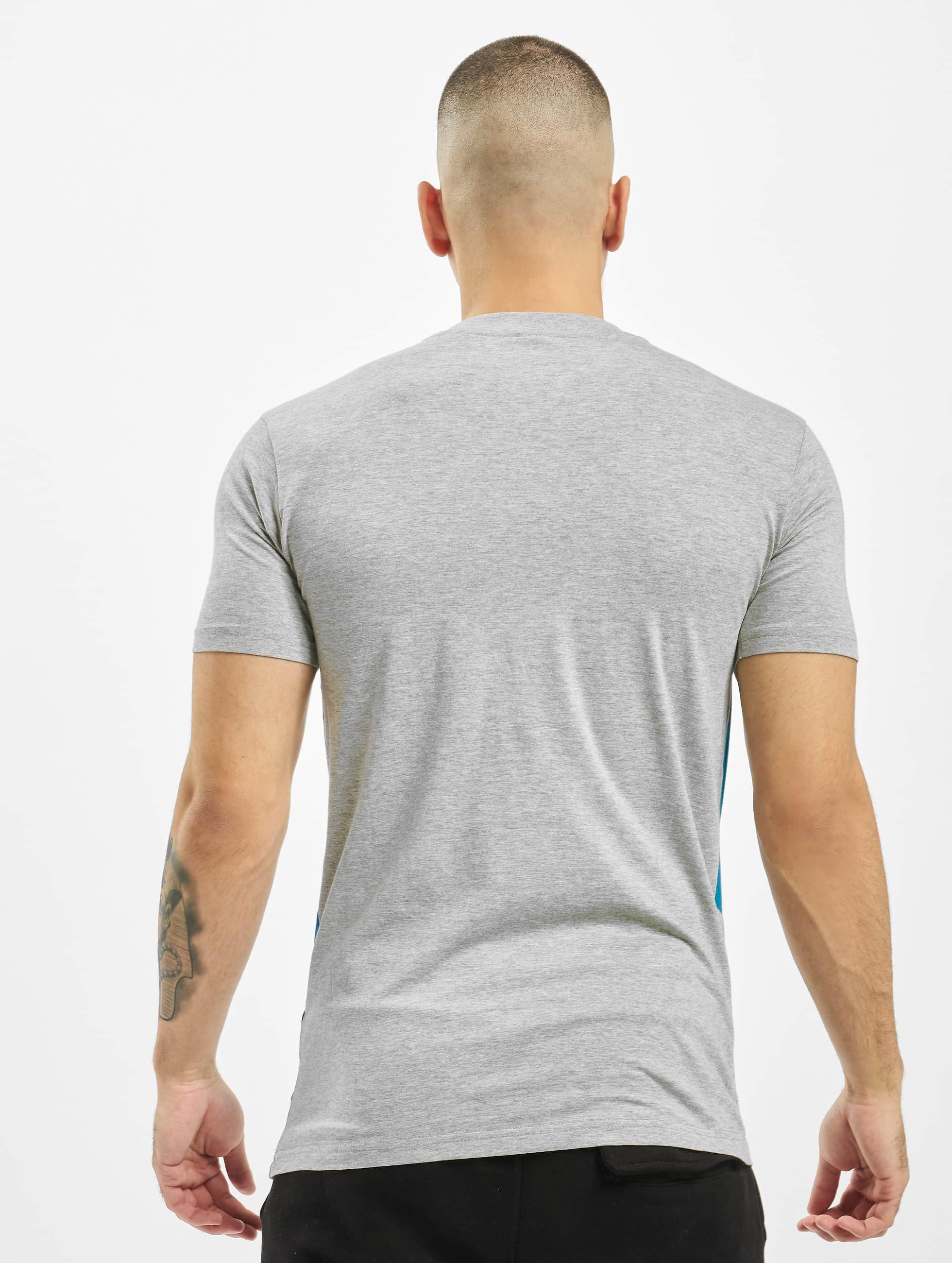 Urban Classics T-Shirt Zig Zag gris