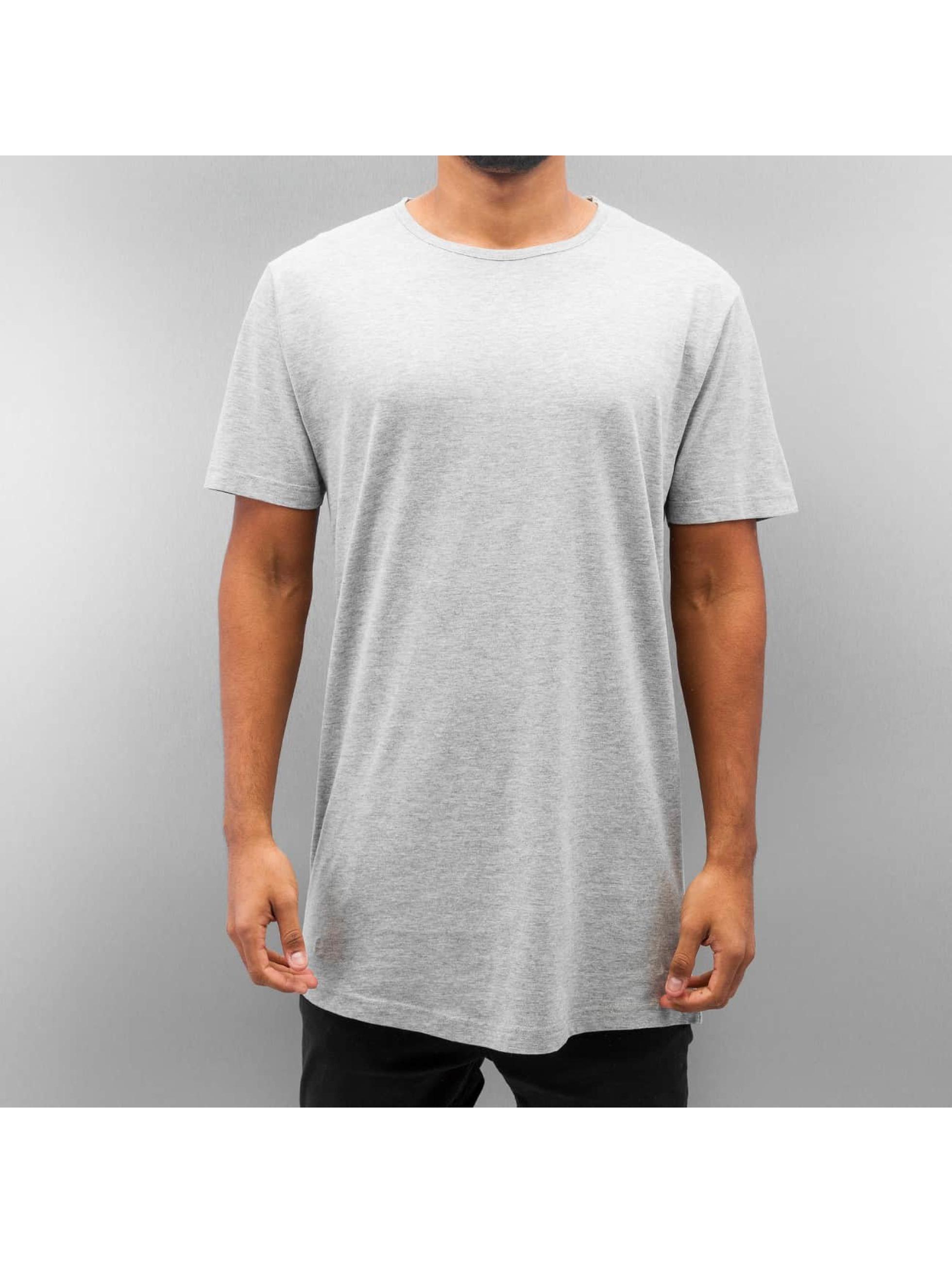 Urban Classics T-Shirt Peached Shaped Long gris