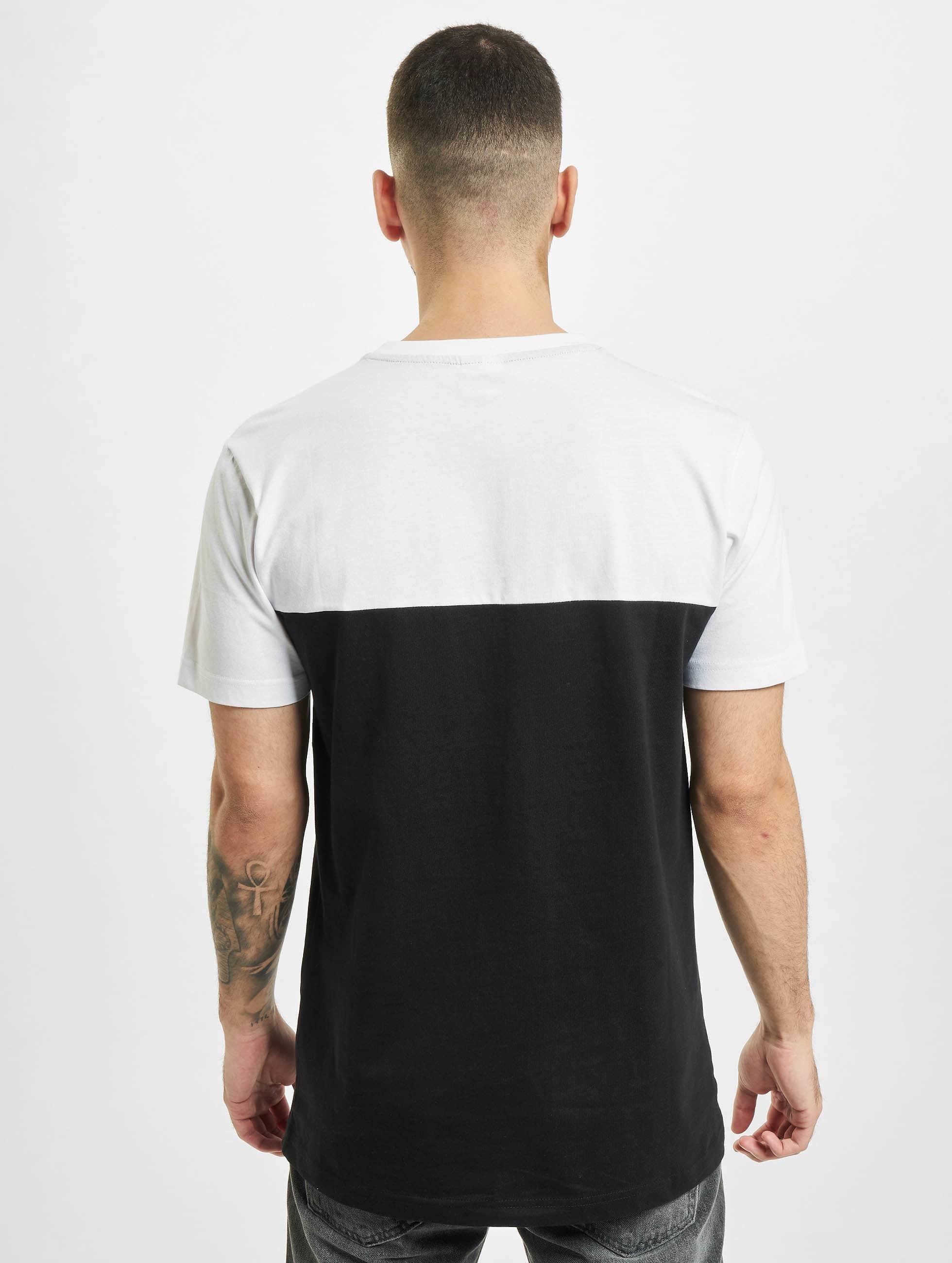 Urban Classics T-shirt Color Block Summer Pocket nero