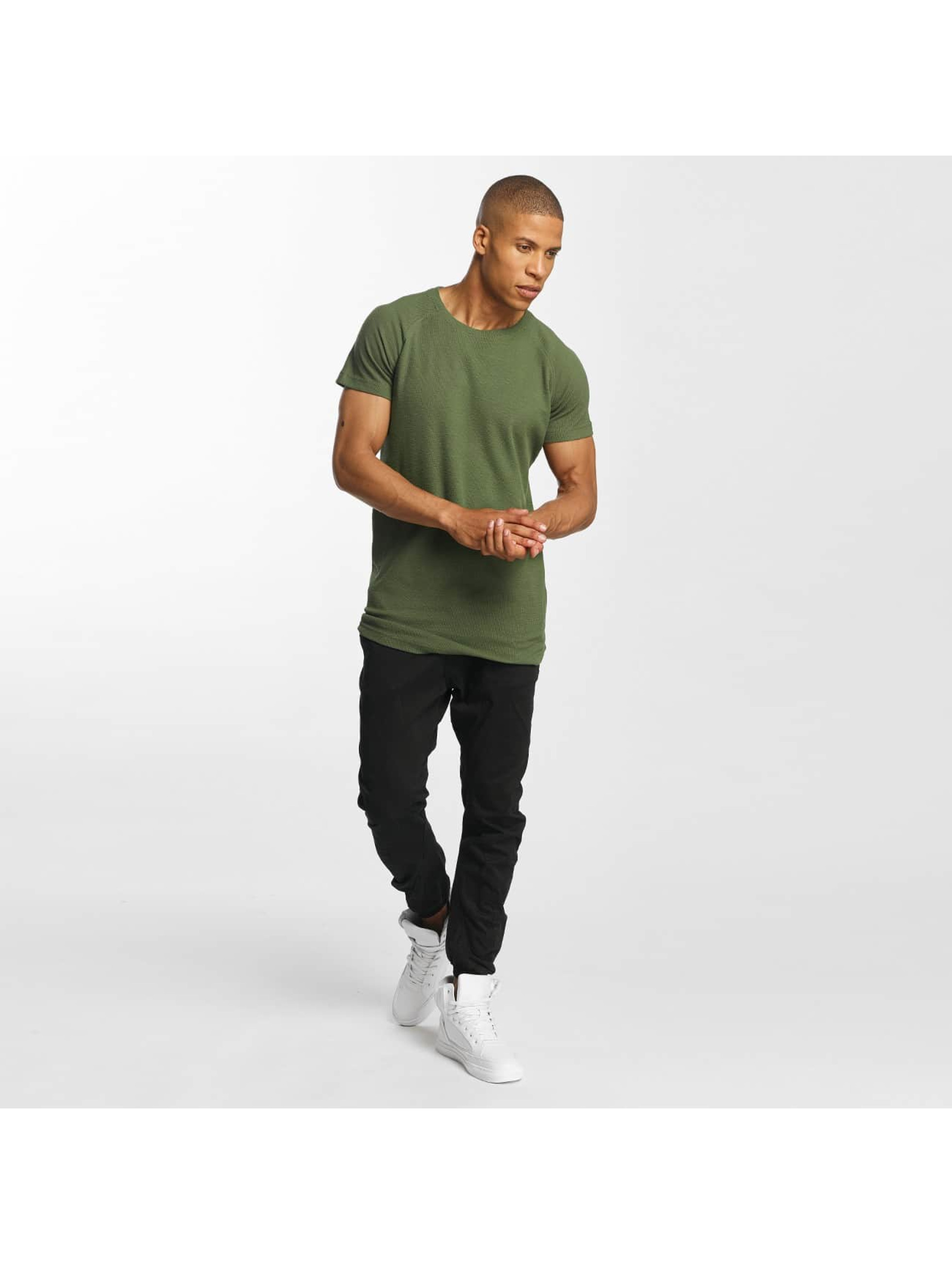 Urban Classics T-shirt Thermal Slub oliva