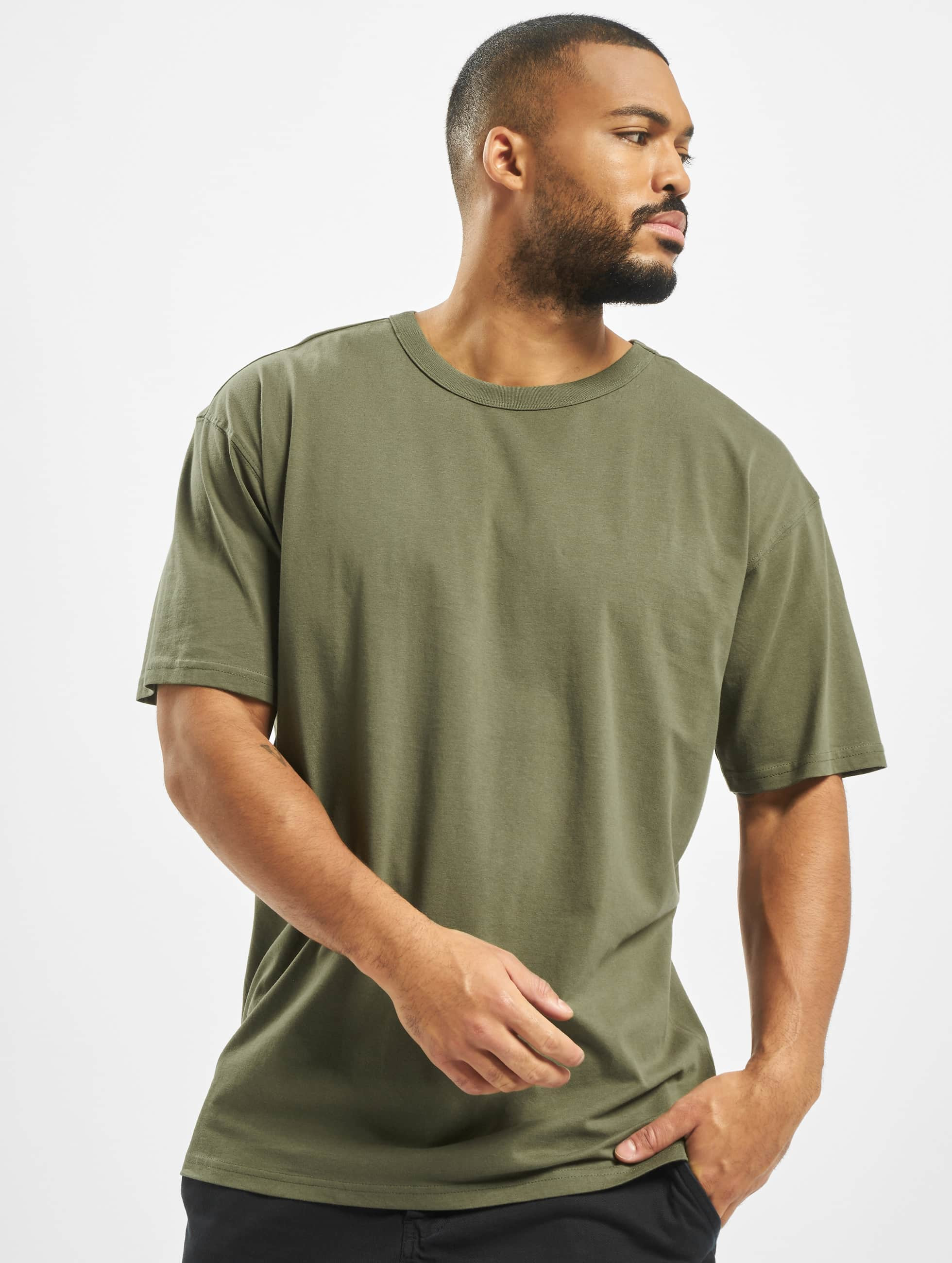 T-Shirt Oversized in olive