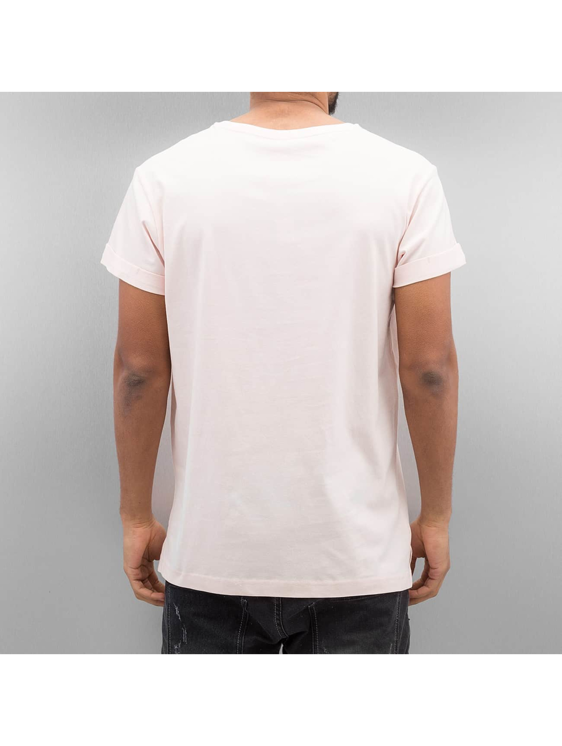 Urban Classics T-Shirt Turnup rose