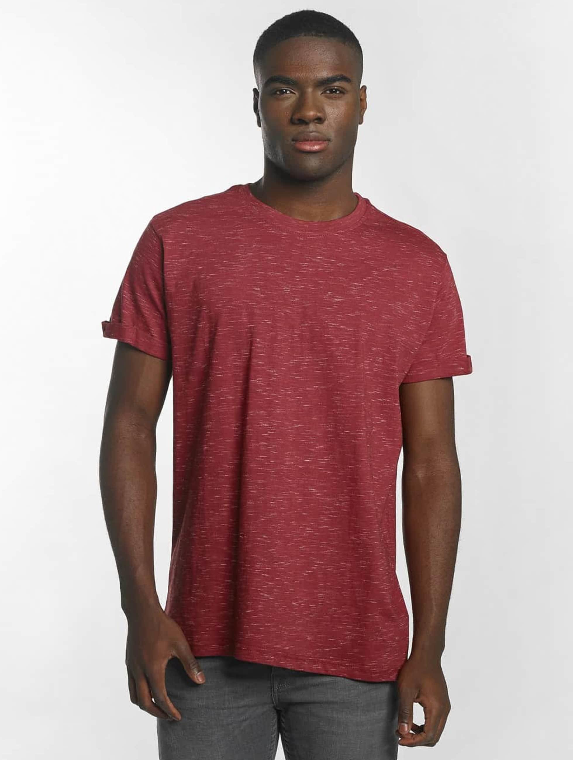 Urban Classics T-Shirt Space Dye Turnup rot