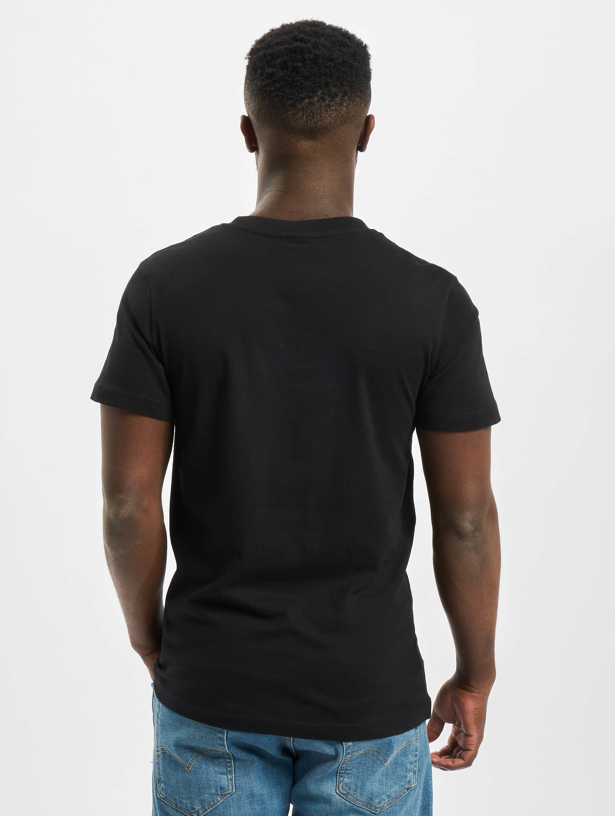 Urban Classics T-Shirt Camo Pocket schwarz