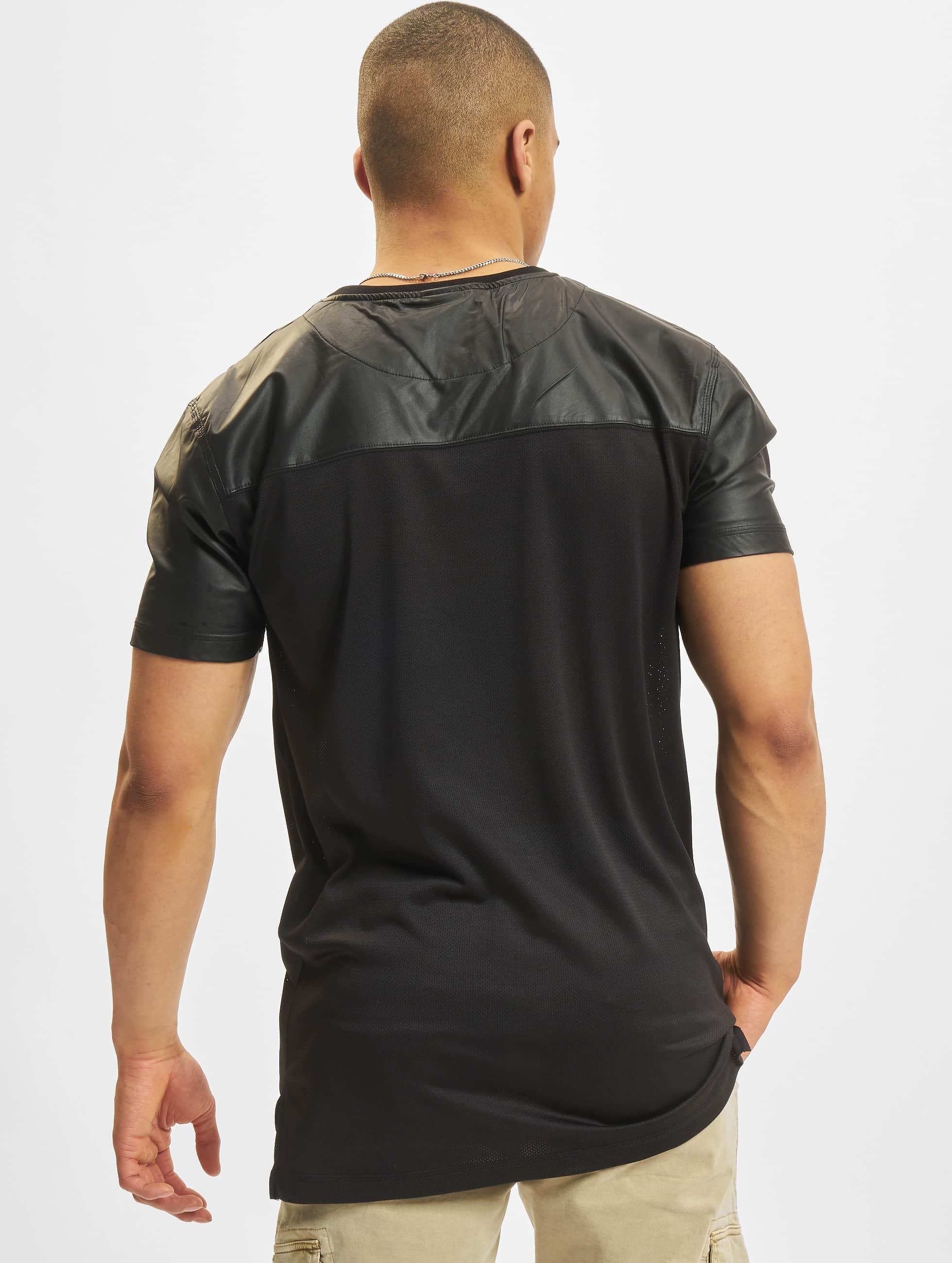 Urban Classics T-Shirt Football Mesh Long schwarz