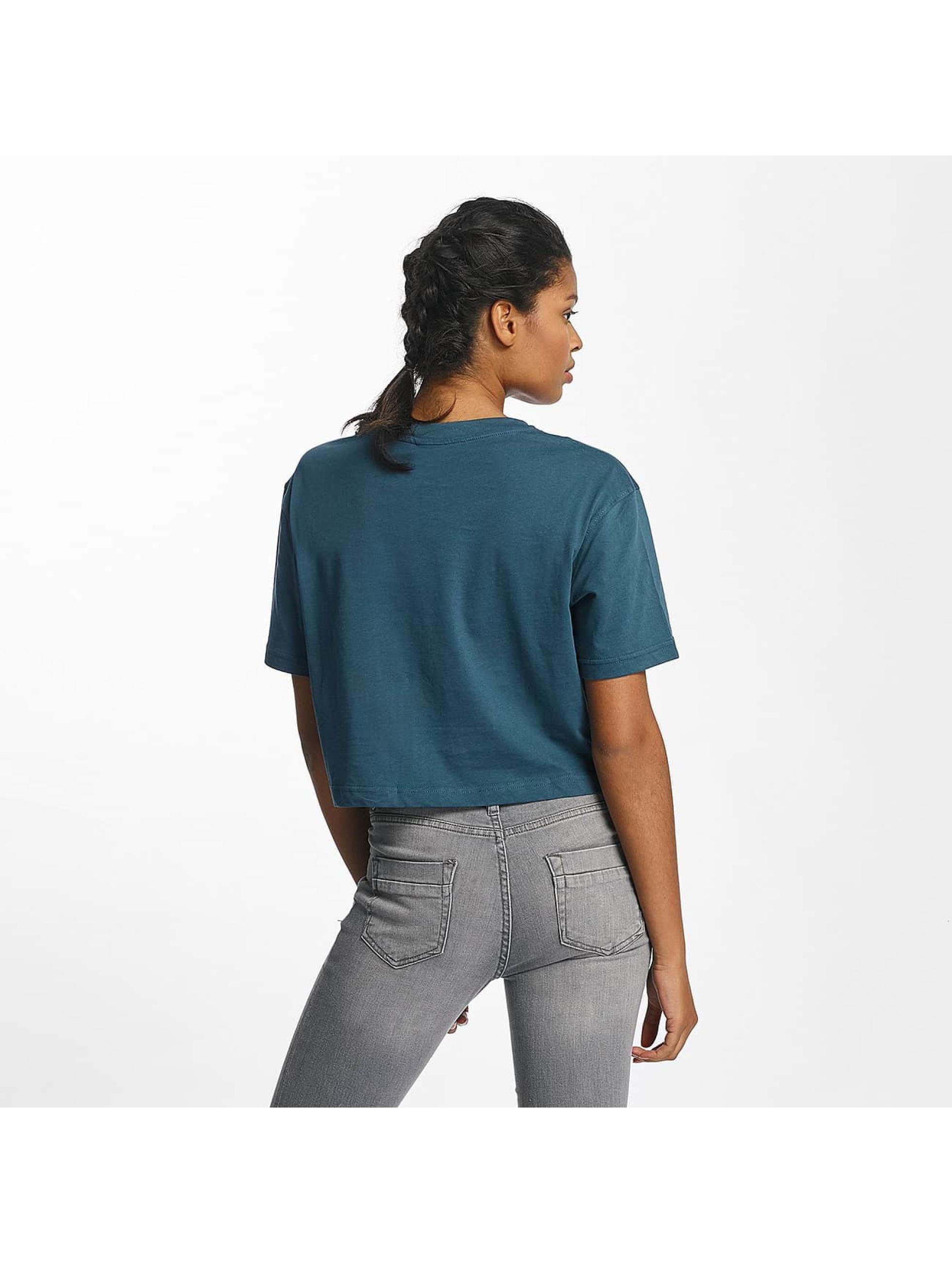 Urban Classics T-shirt Ladies Oversized turchese