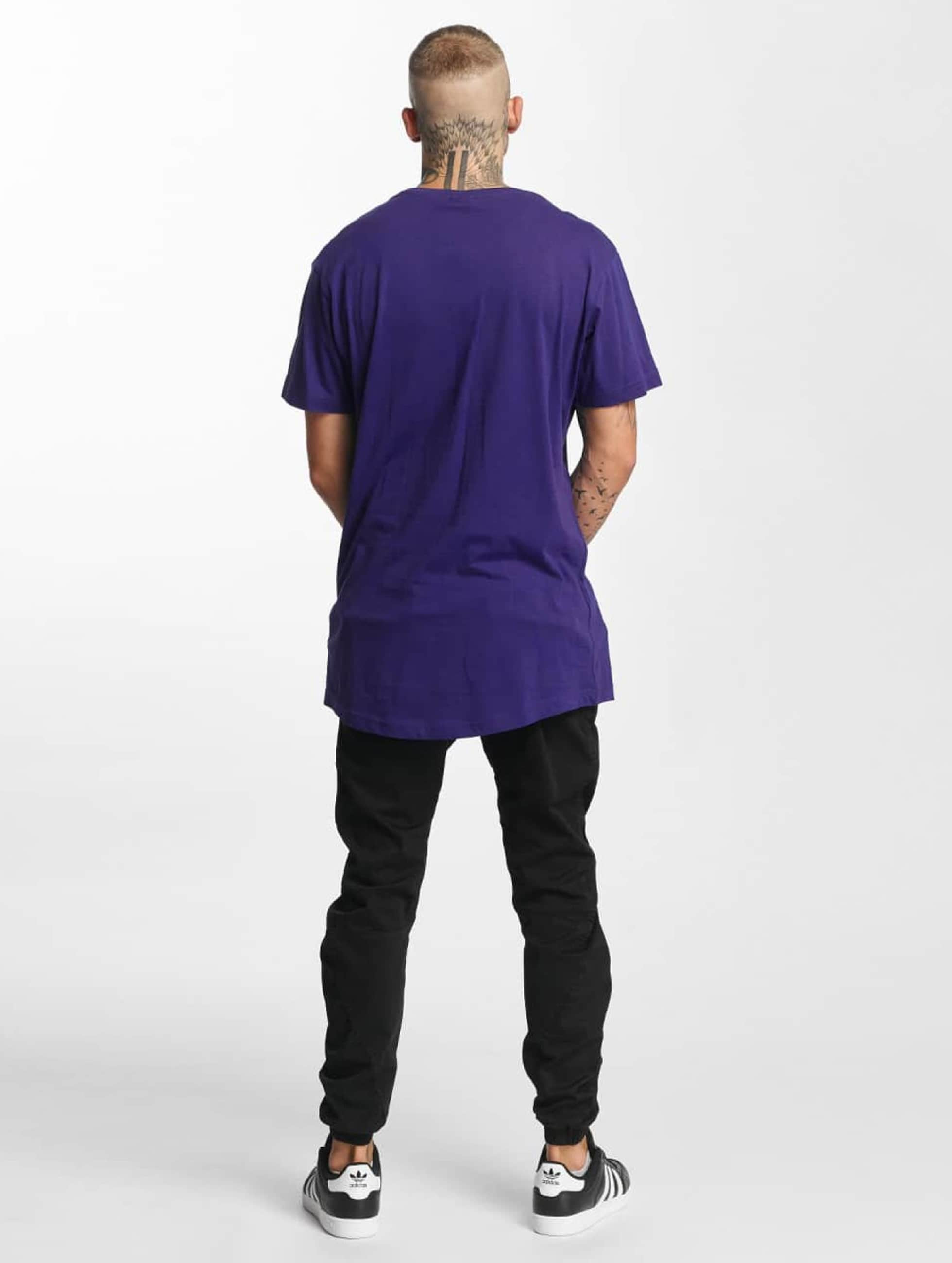 Urban Classics T-shirt Shaped Oversized Long viola
