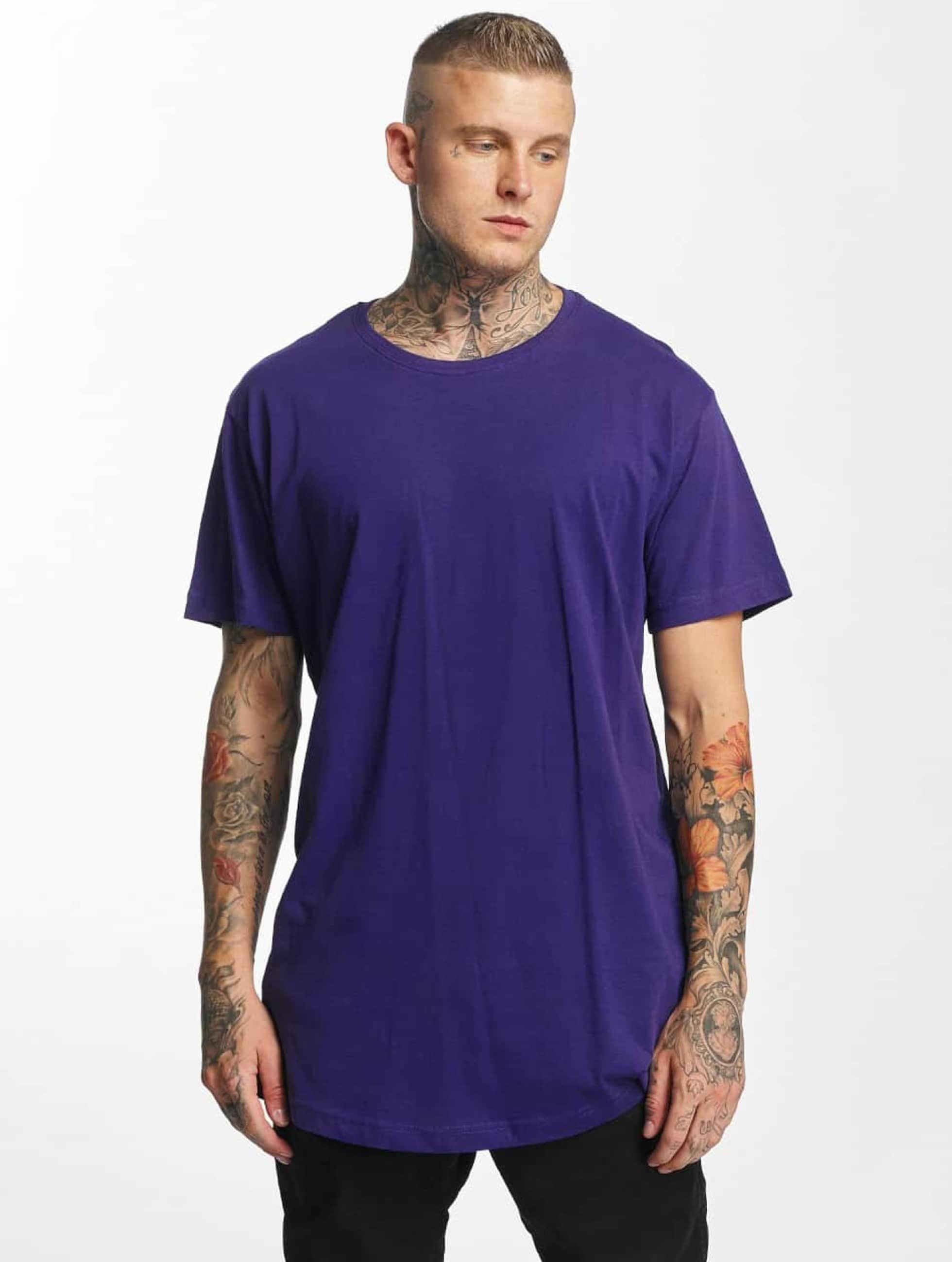 Urban Classics T-Shirt Shaped Oversized Long violet