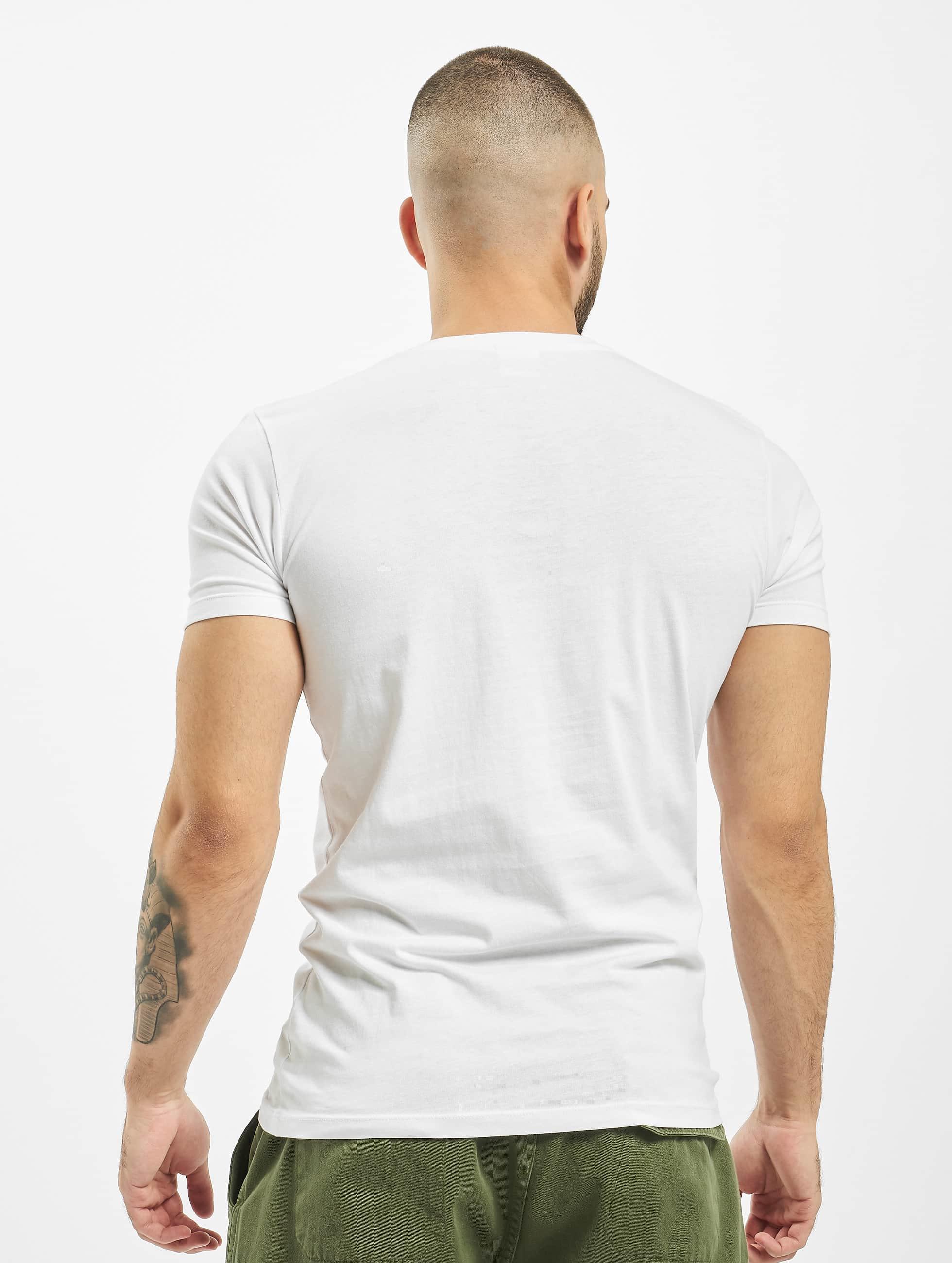 Urban Classics t-shirt Pocket wit