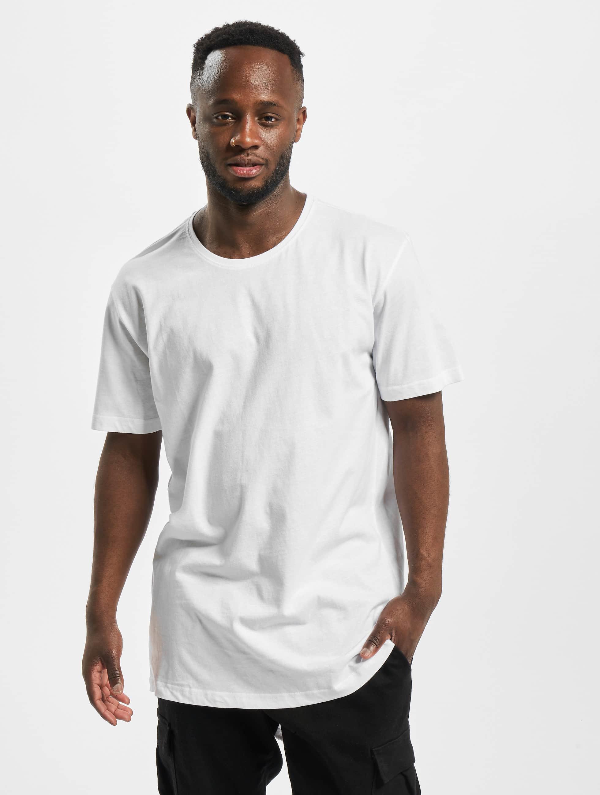Urban Classics t-shirt Long Tail wit