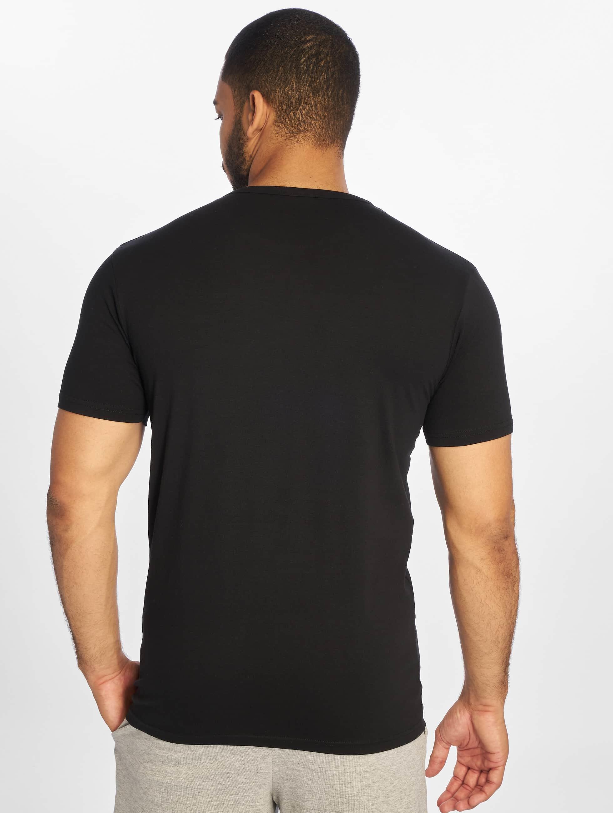 Urban Classics t-shirt Fitted Stretch zwart
