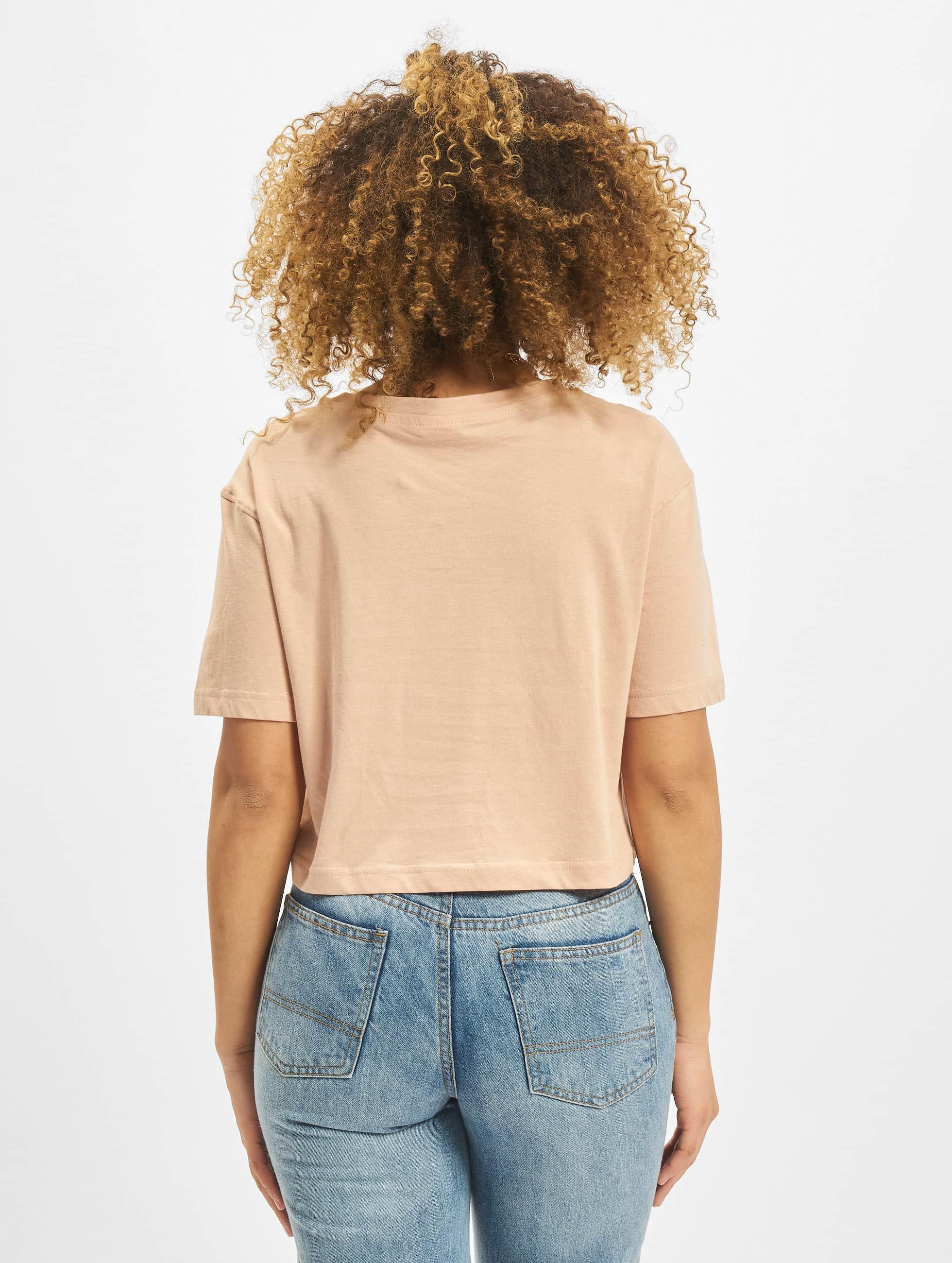 Urban Classics T-skjorter Cropped rosa
