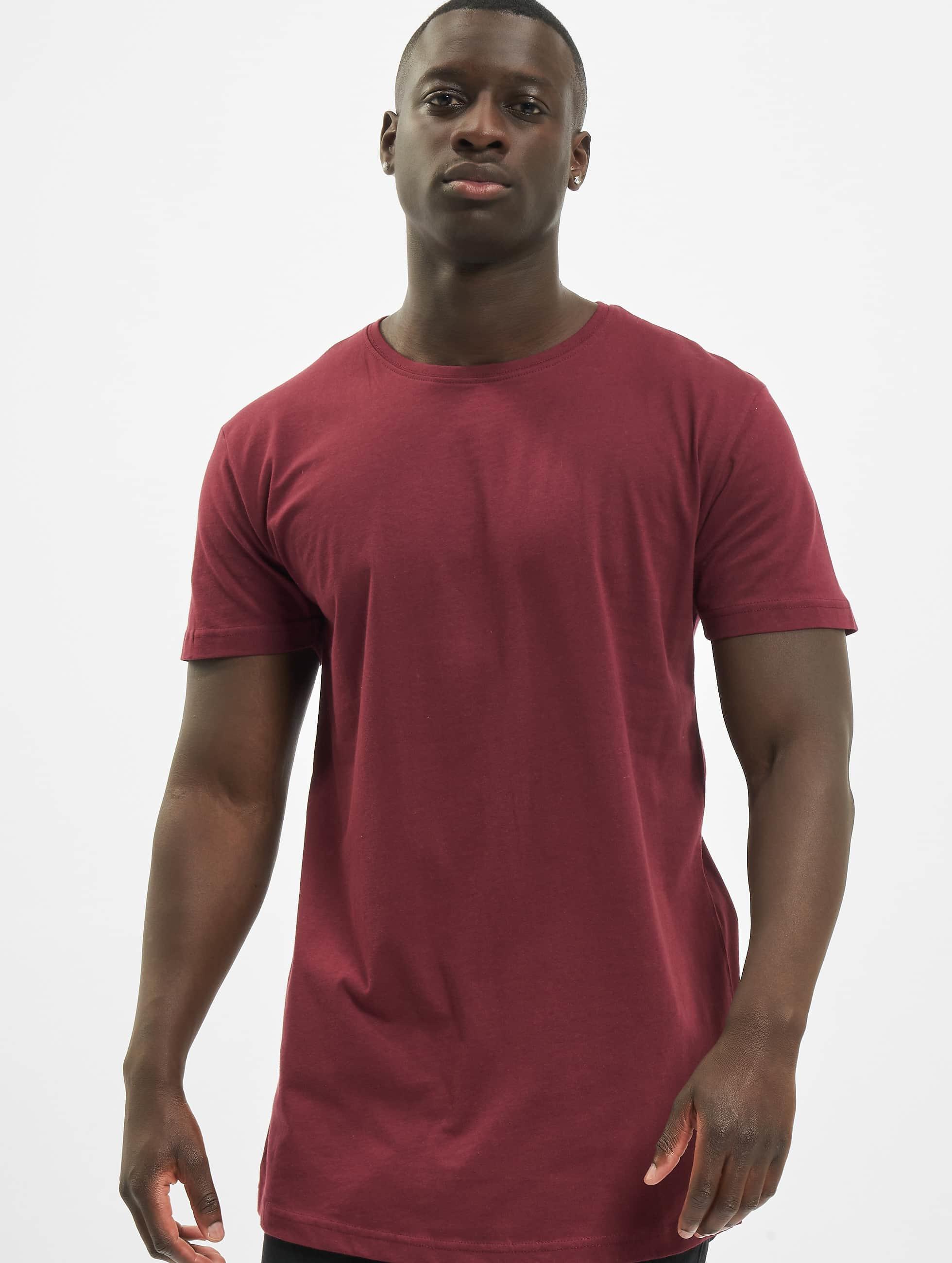 Urban Classics Tall Tees Shaped Oversized Long červený