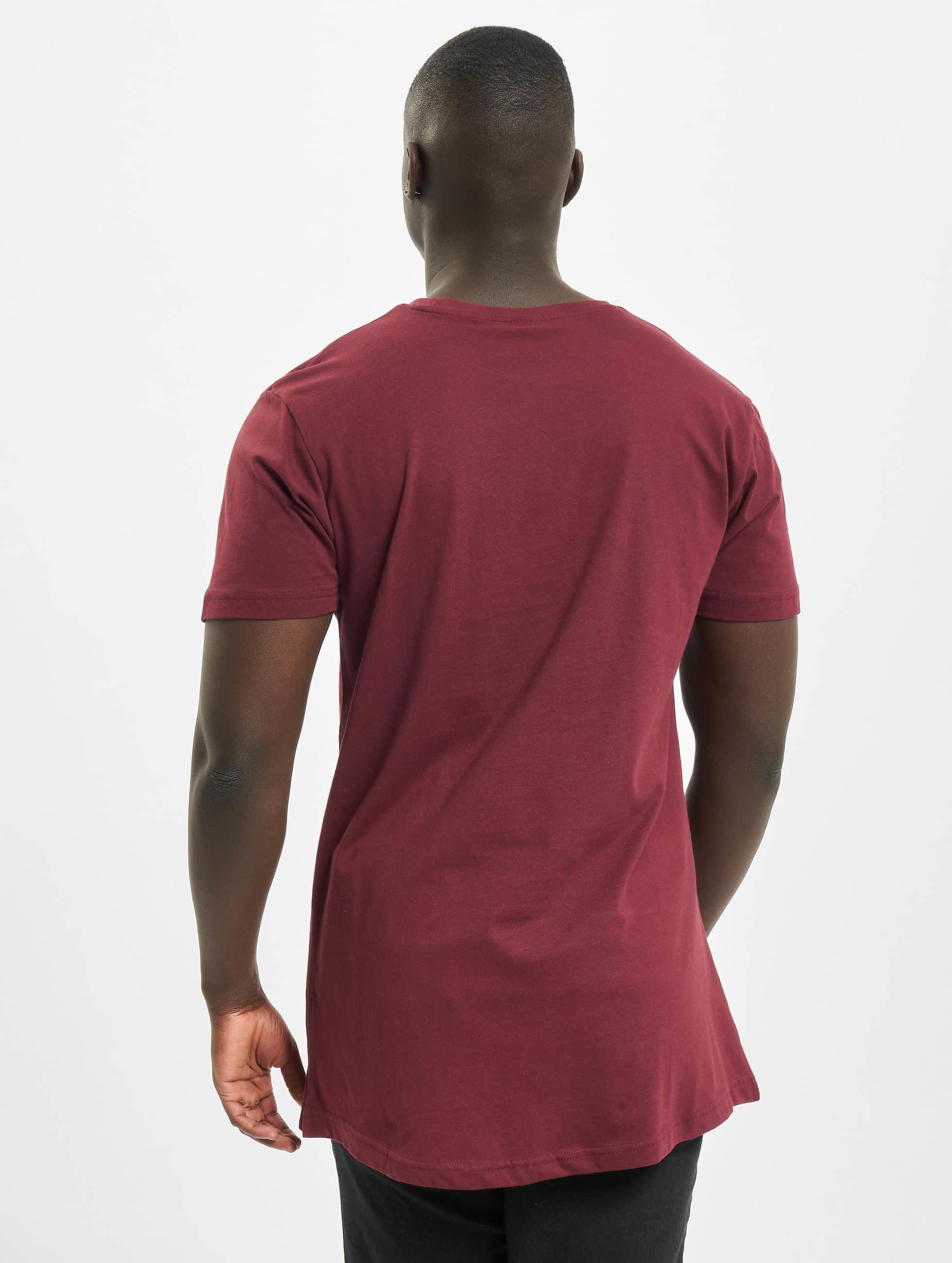 Urban Classics Tall Tees Shaped Oversized Long красный