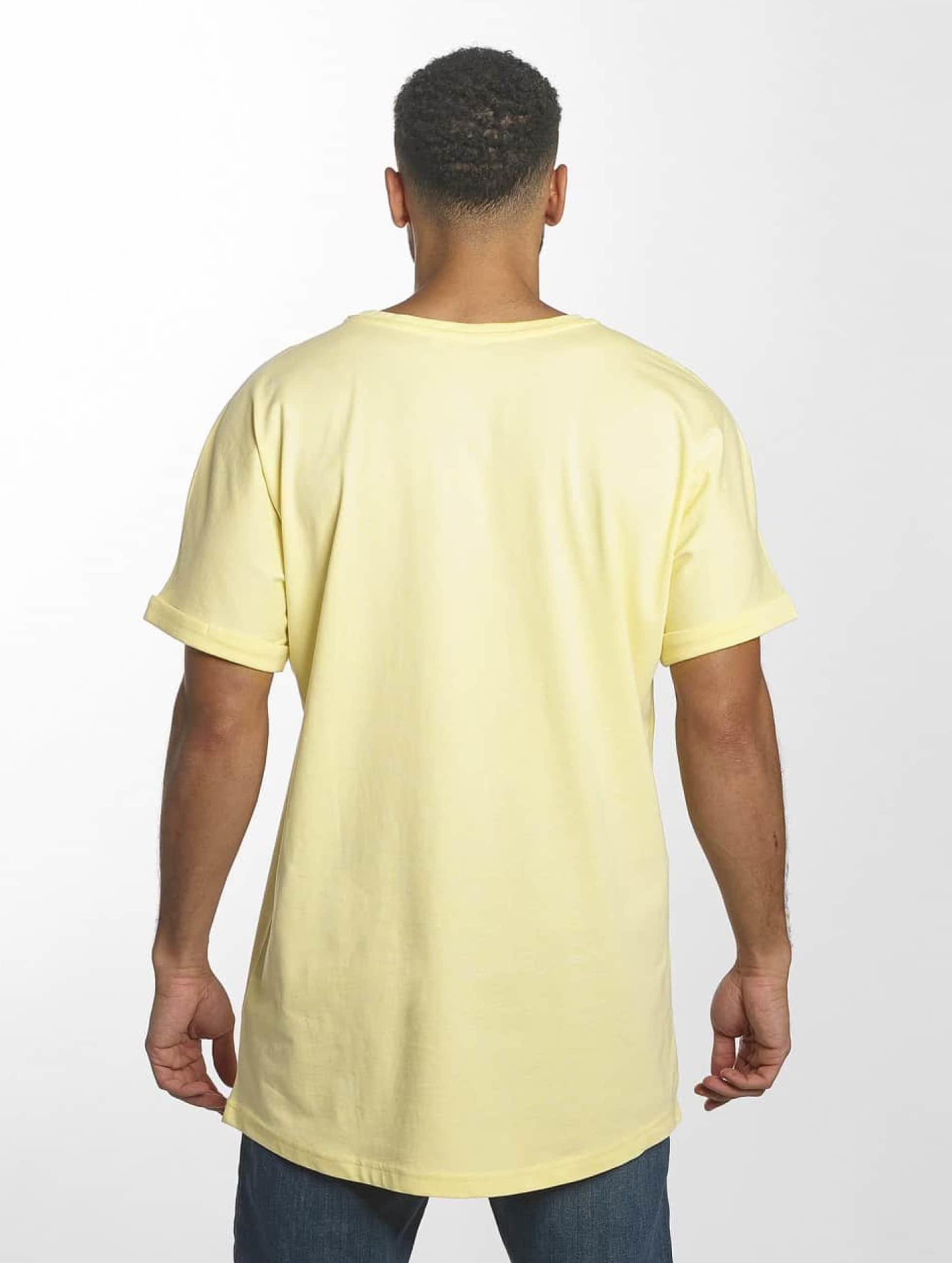 Urban Classics Tall Tees Long Shaped Turnup geel