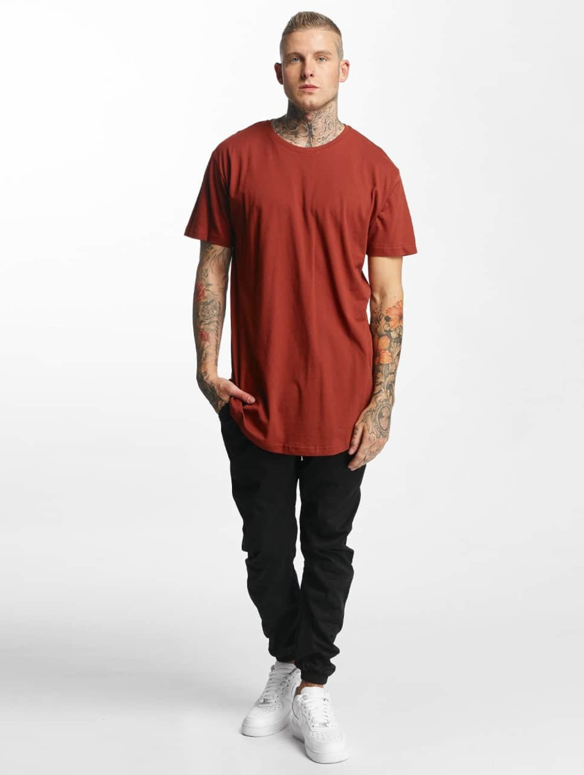 Urban Classics Tall Tees Shaped Oversized Long marrón